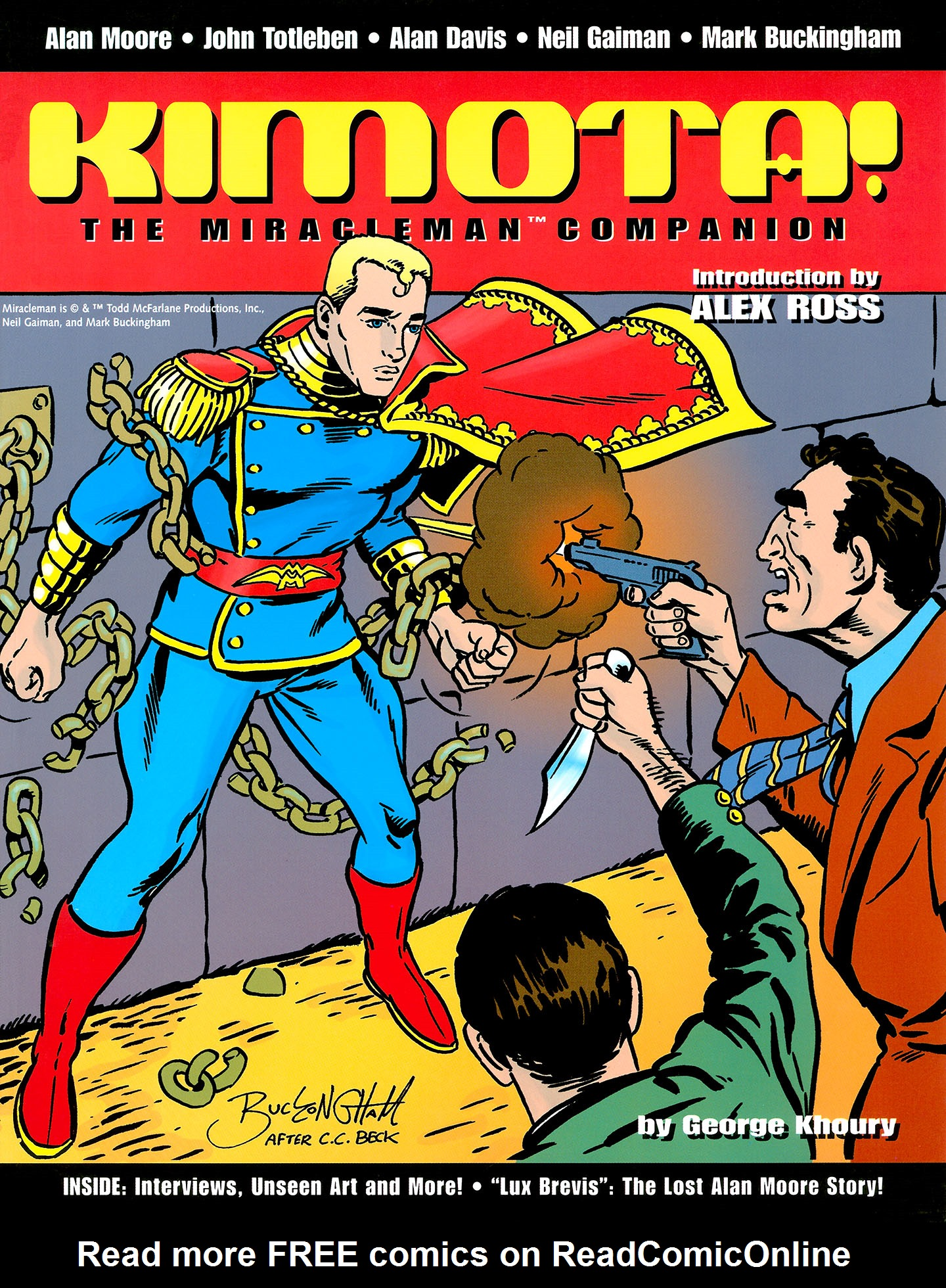 Read online Kimota!: The Miracleman Companion comic -  Issue # Full - 1