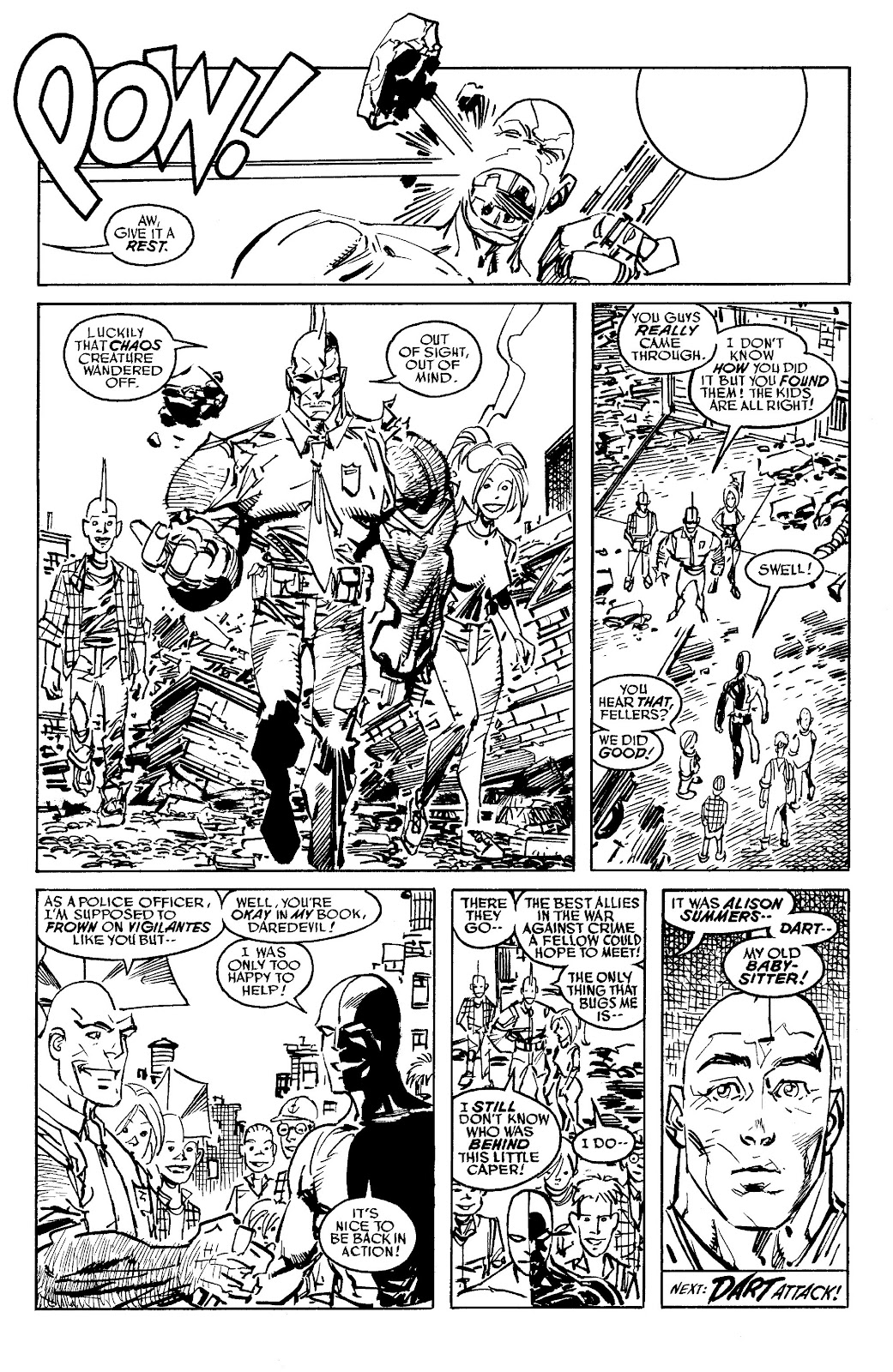 Read online Savage Dragon Archives comic -  Issue # TPB 6 (Part 5) - 51