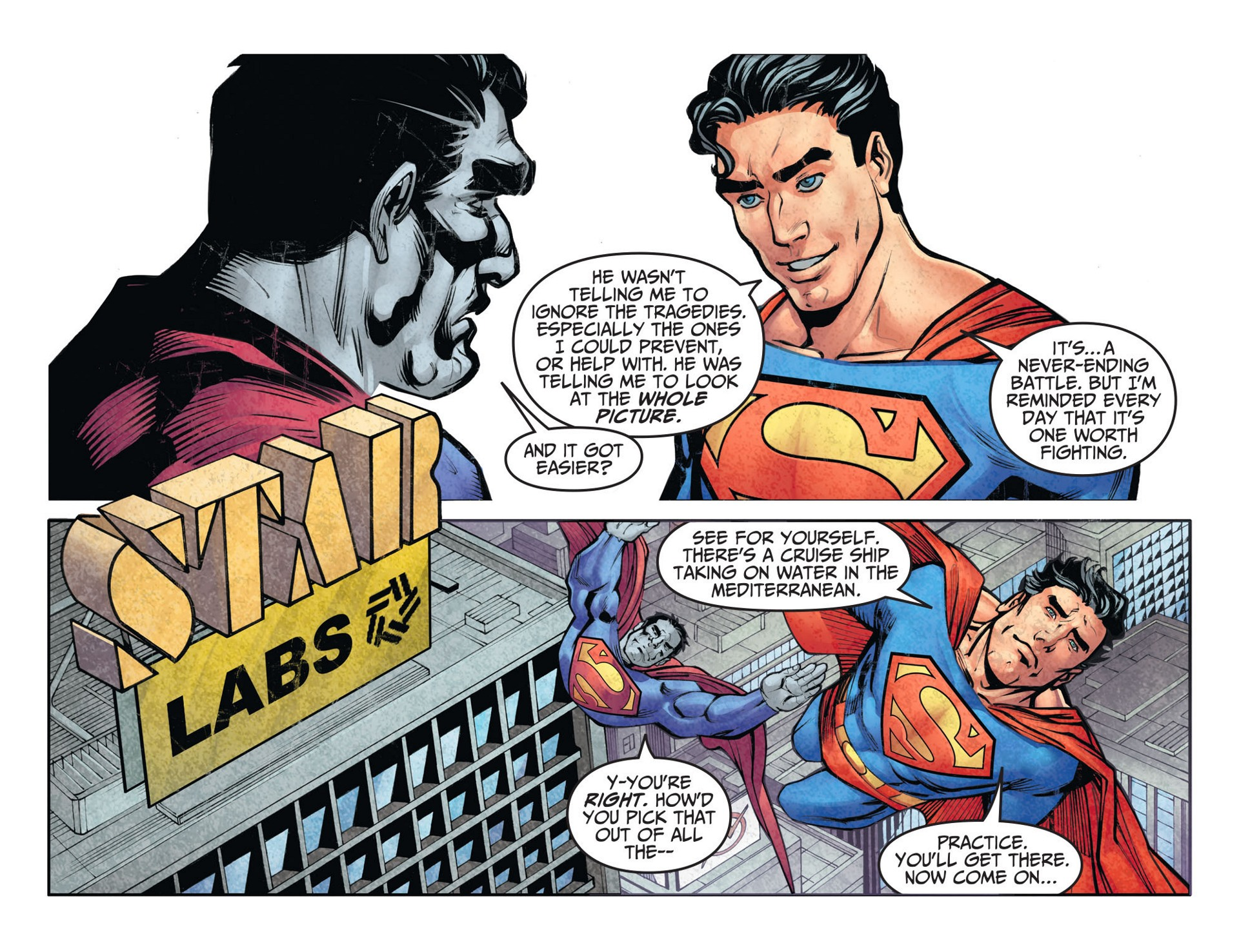 Read online Adventures of Superman [I] comic -  Issue #26 - 17