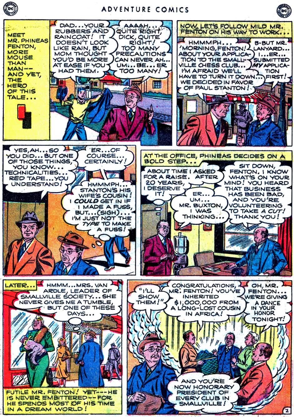Read online Adventure Comics (1938) comic -  Issue #163 - 4
