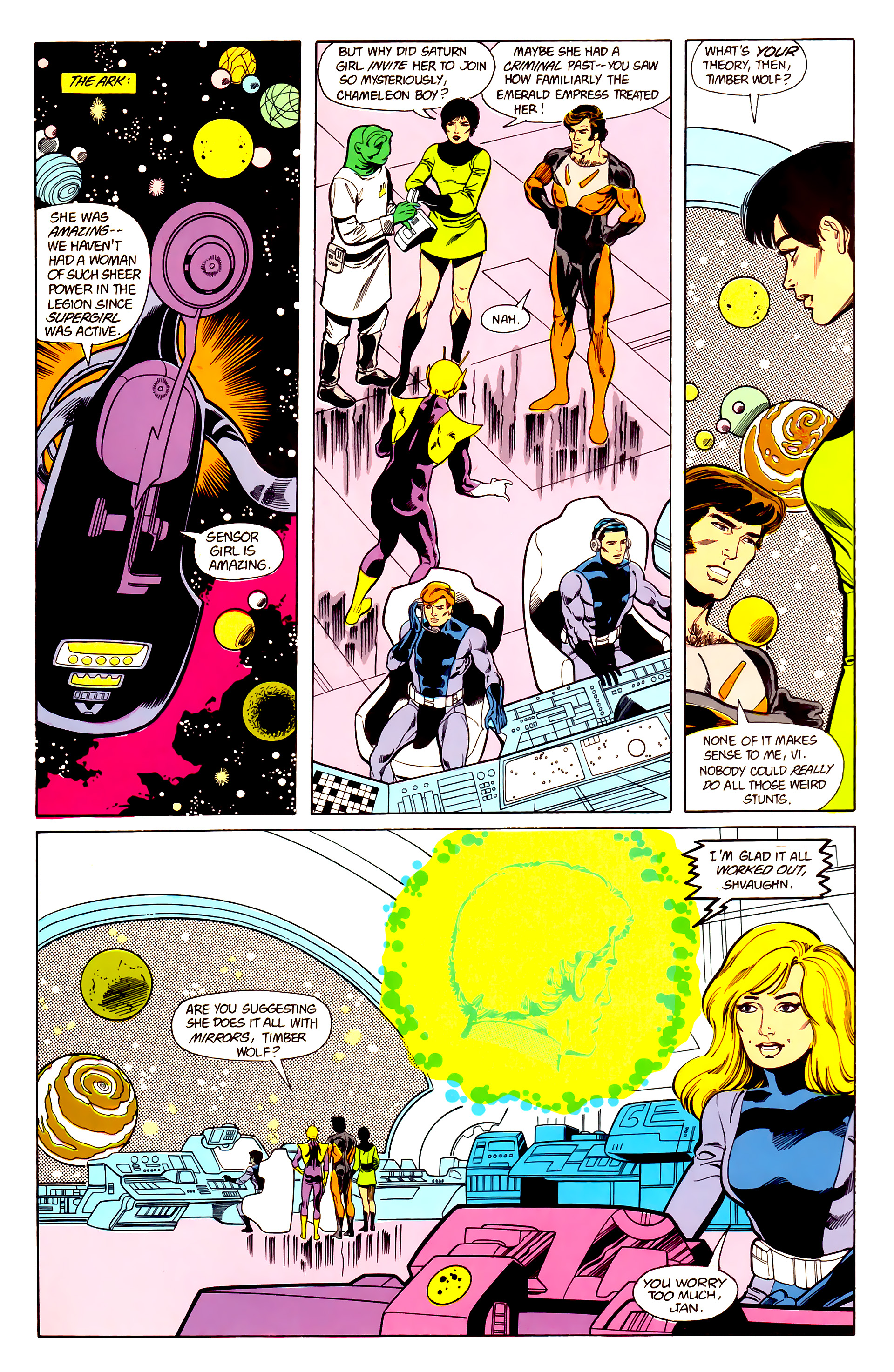 Legion of Super-Heroes (1984) 21 Page 23