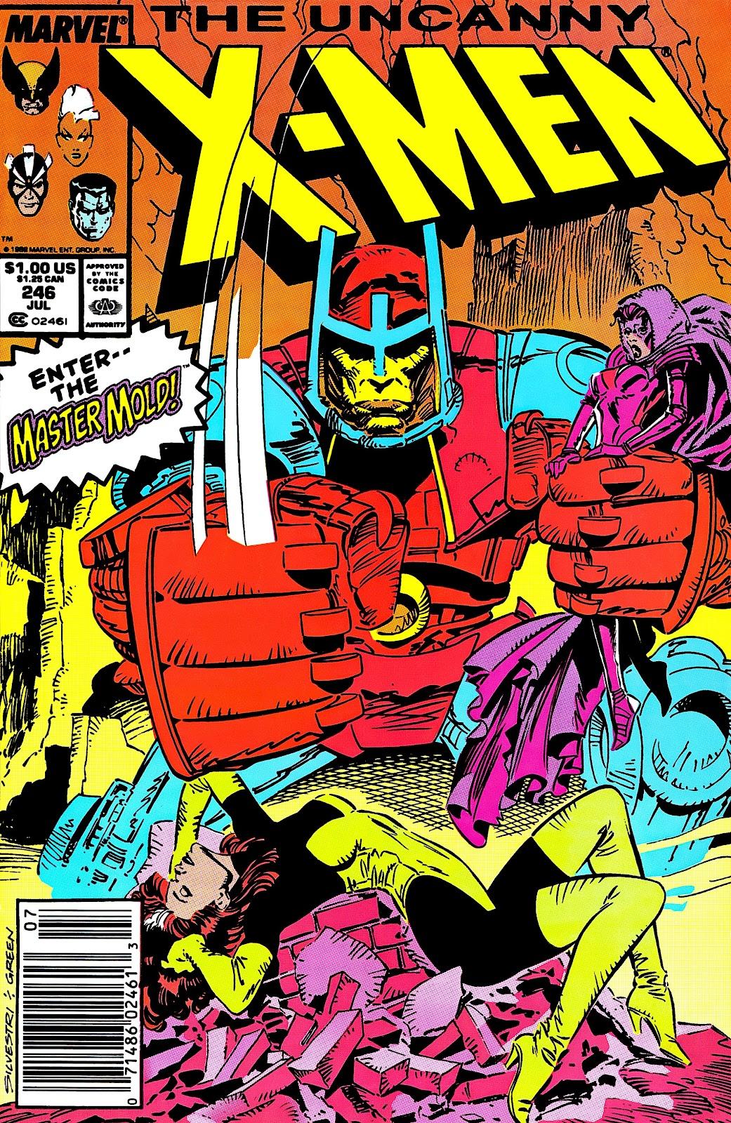 Uncanny X-Men (1963) issue 246 - Page 1
