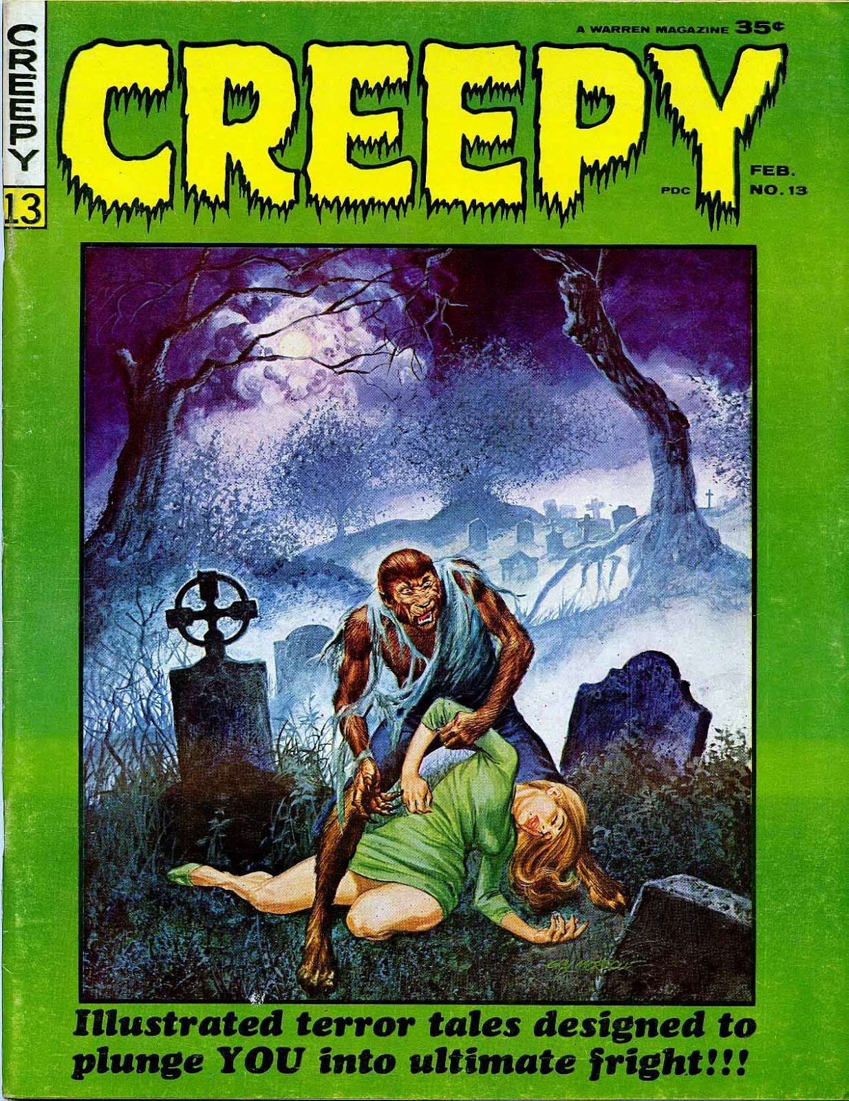 Creepy (1964) issue 13 - Page 1