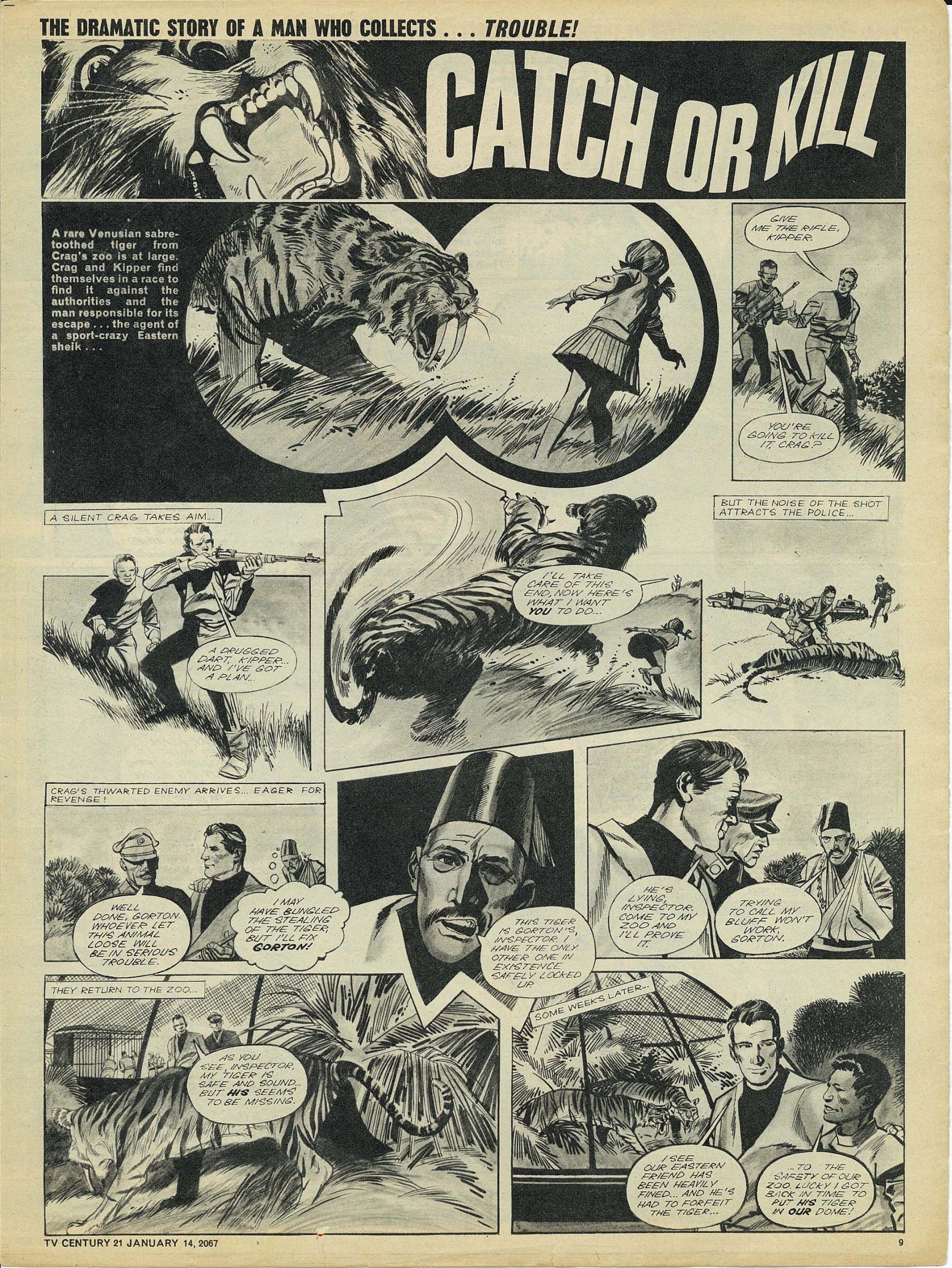 Read online TV Century 21 (TV 21) comic -  Issue #104 - 9