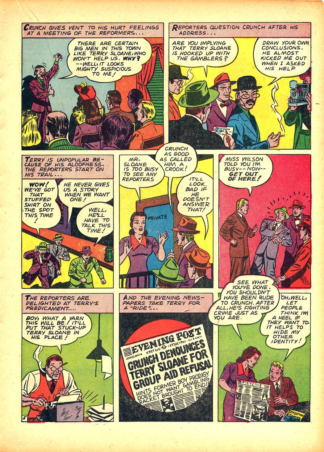 Read online Sensation (Mystery) Comics comic -  Issue #5 - 29