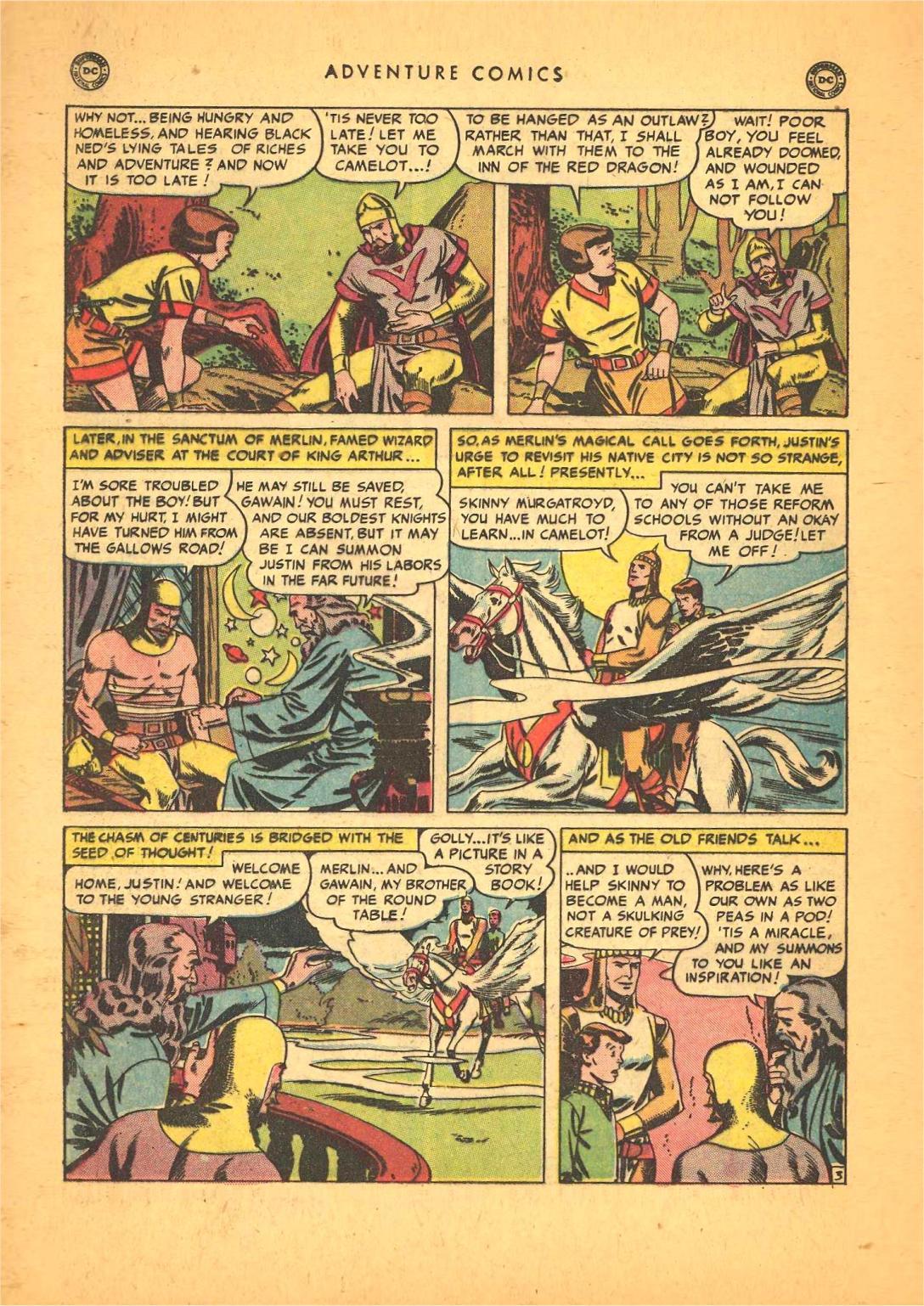 Read online Adventure Comics (1938) comic -  Issue #148 - 34