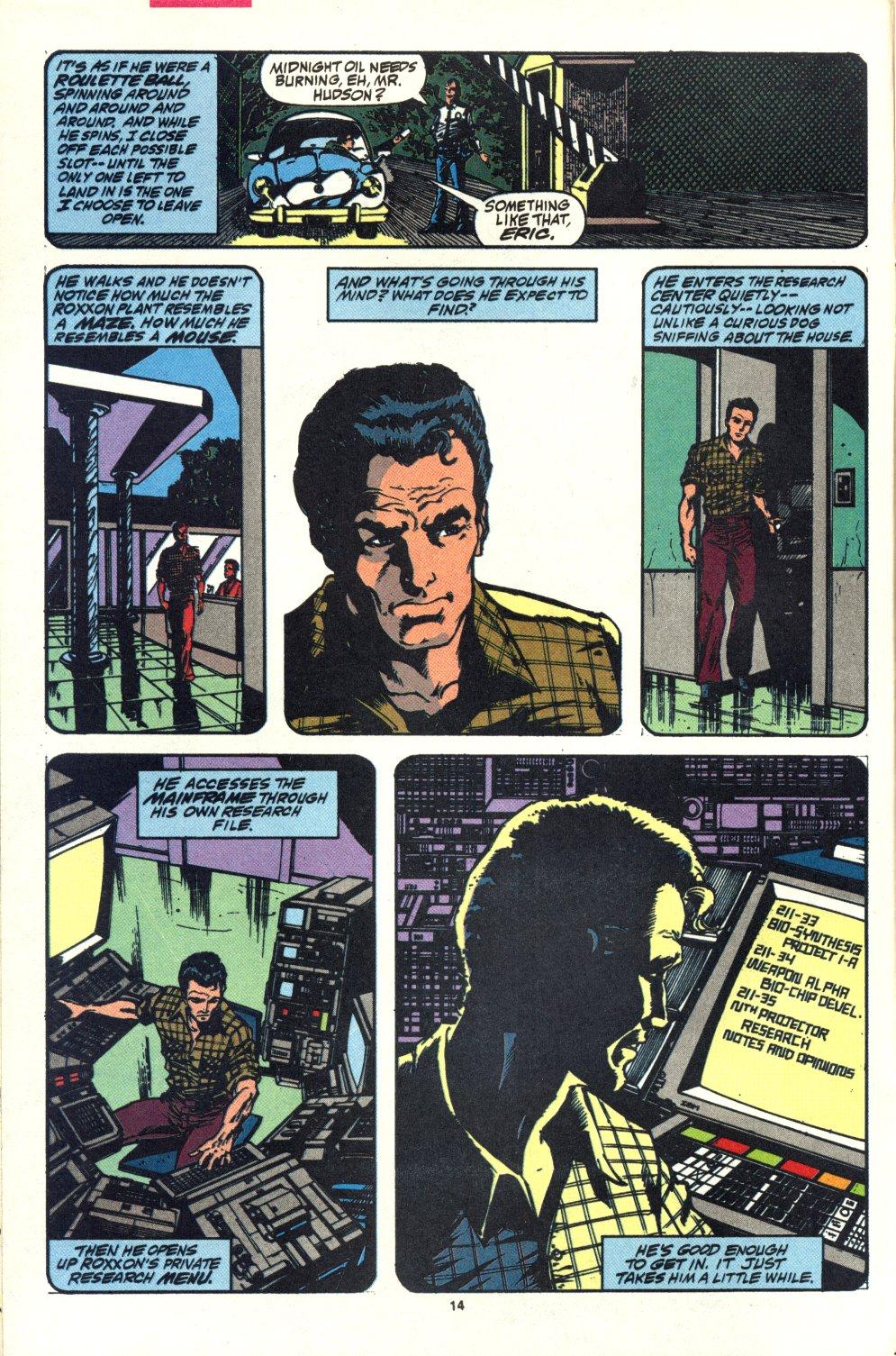 Read online Alpha Flight (1983) comic -  Issue #92 - 12