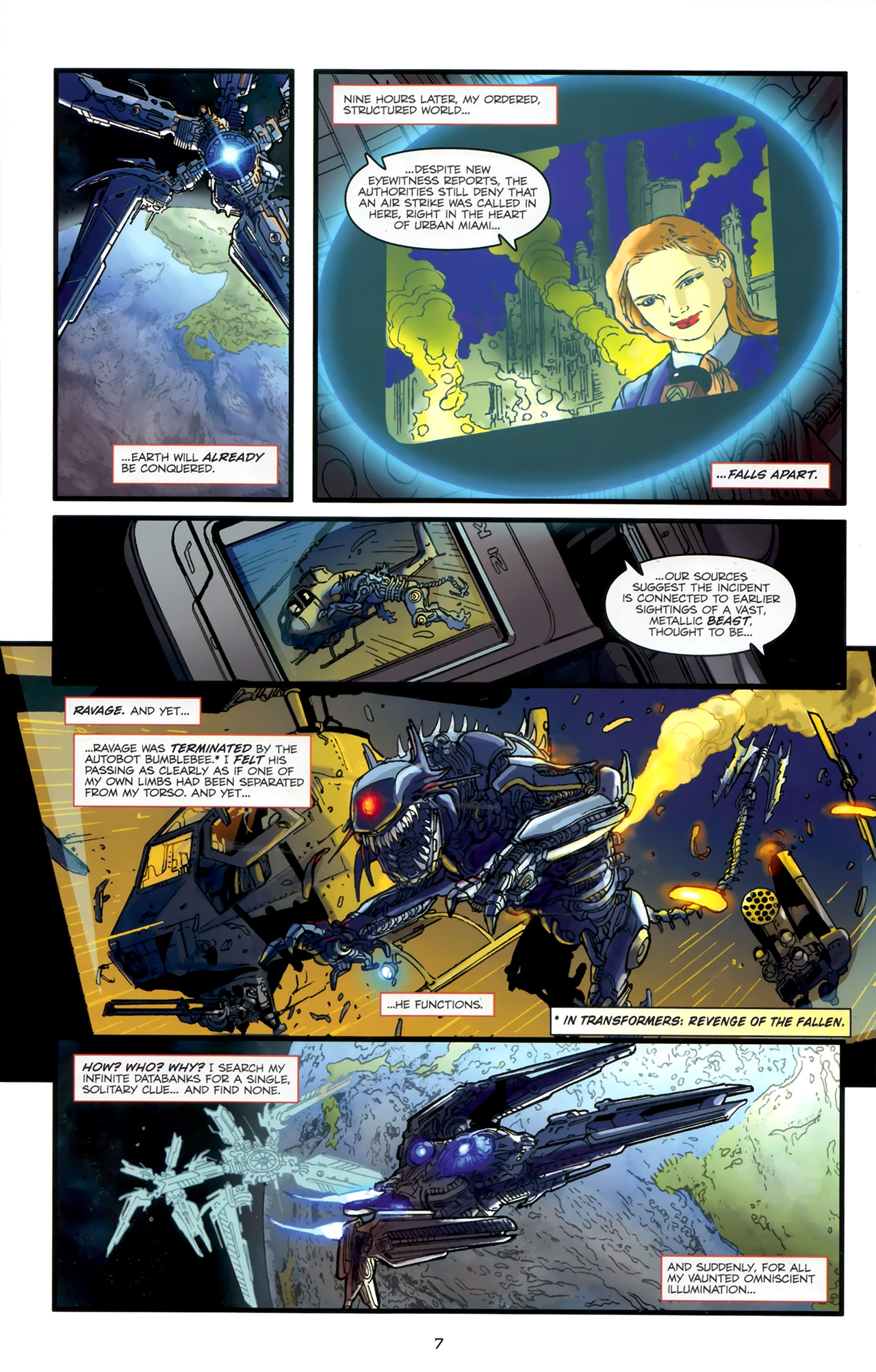 Read online Transformers: Nefarious comic -  Issue #1 - 11