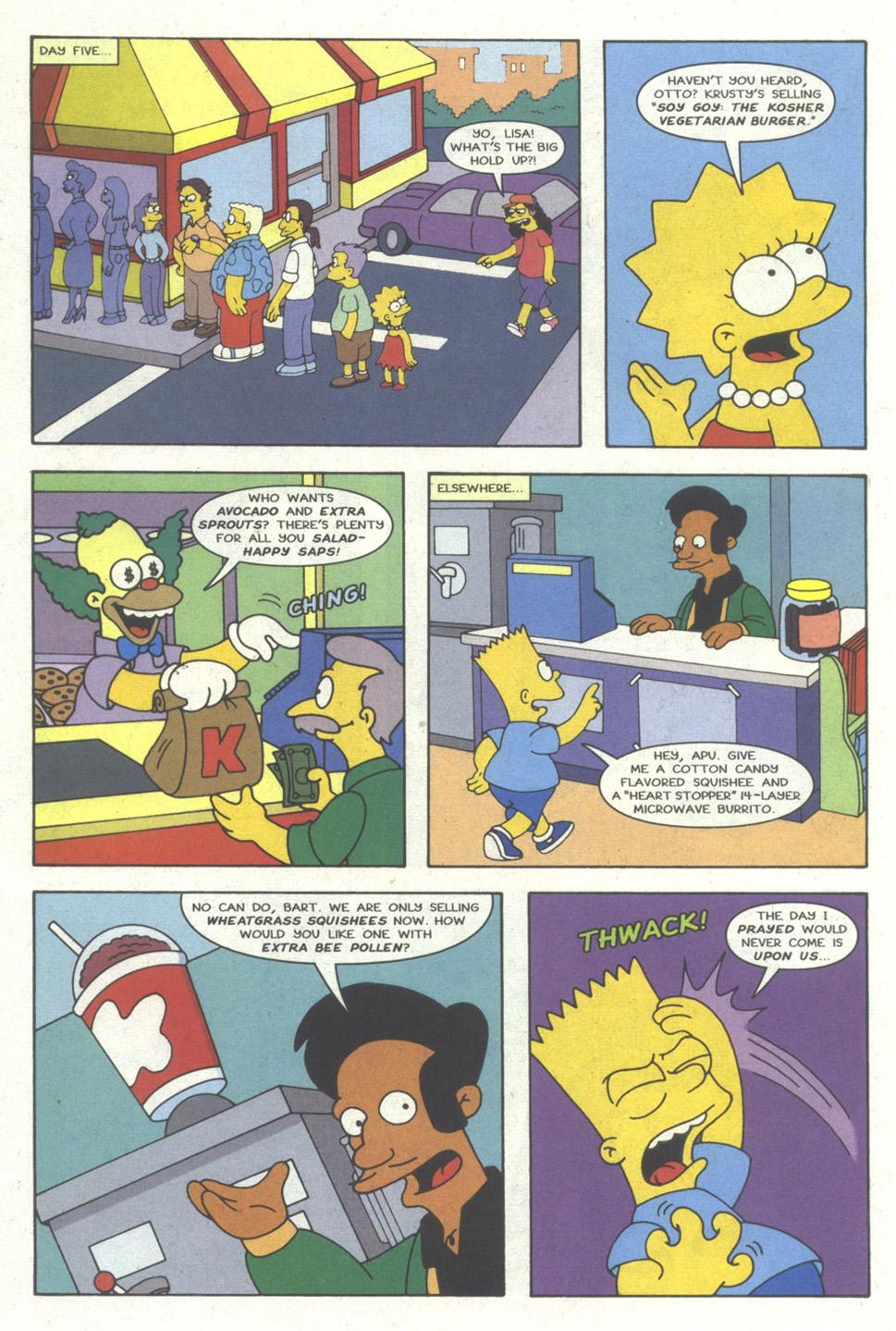 Read online Simpsons Comics comic -  Issue #18 - 13