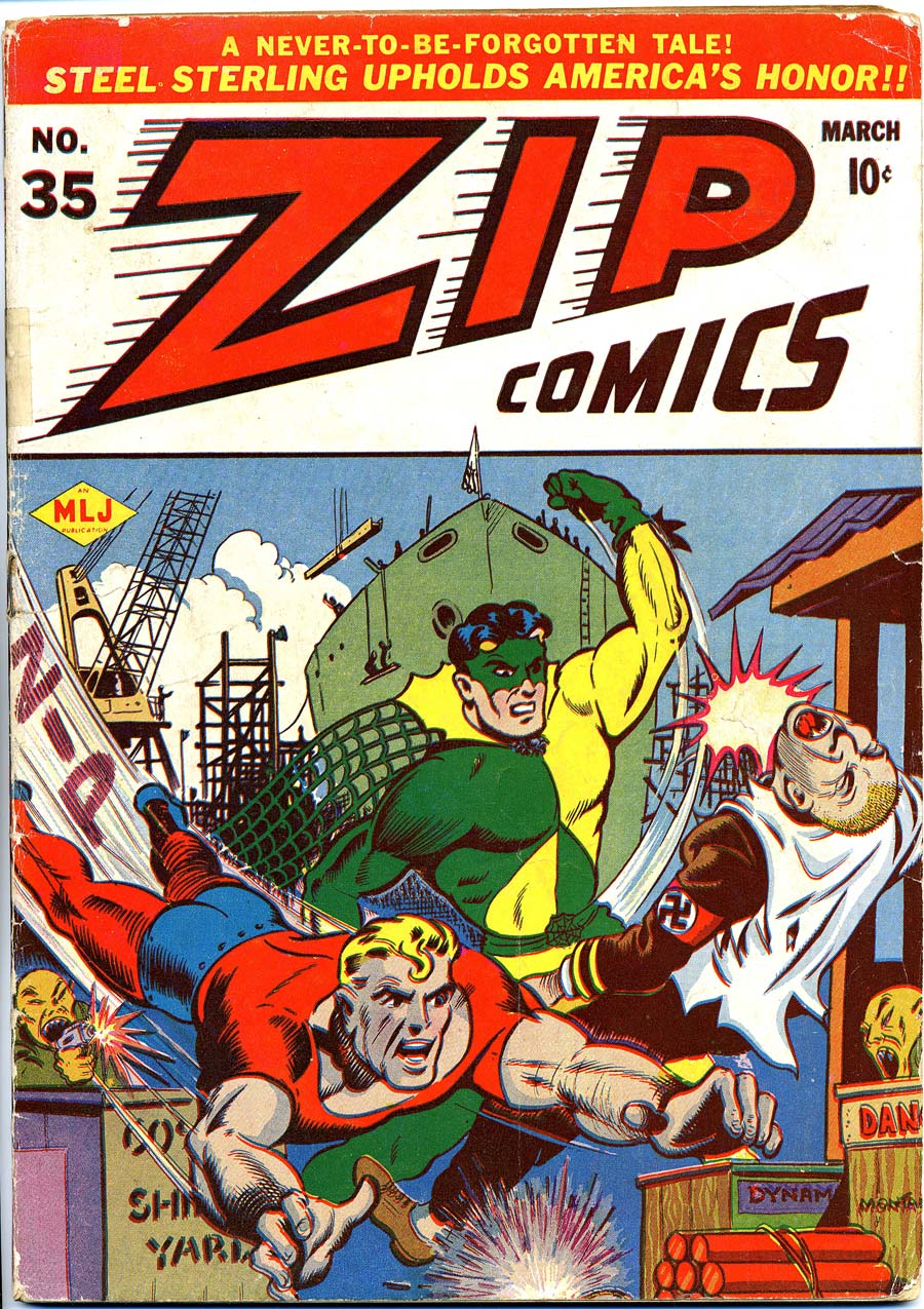 Zip Comics 35 Page 1