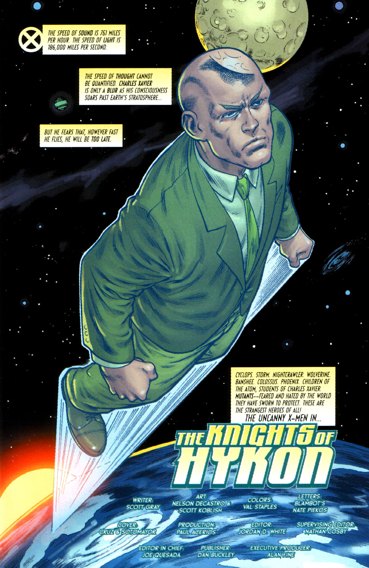 Read online Uncanny X-Men: First Class comic -  Issue #5 - 2