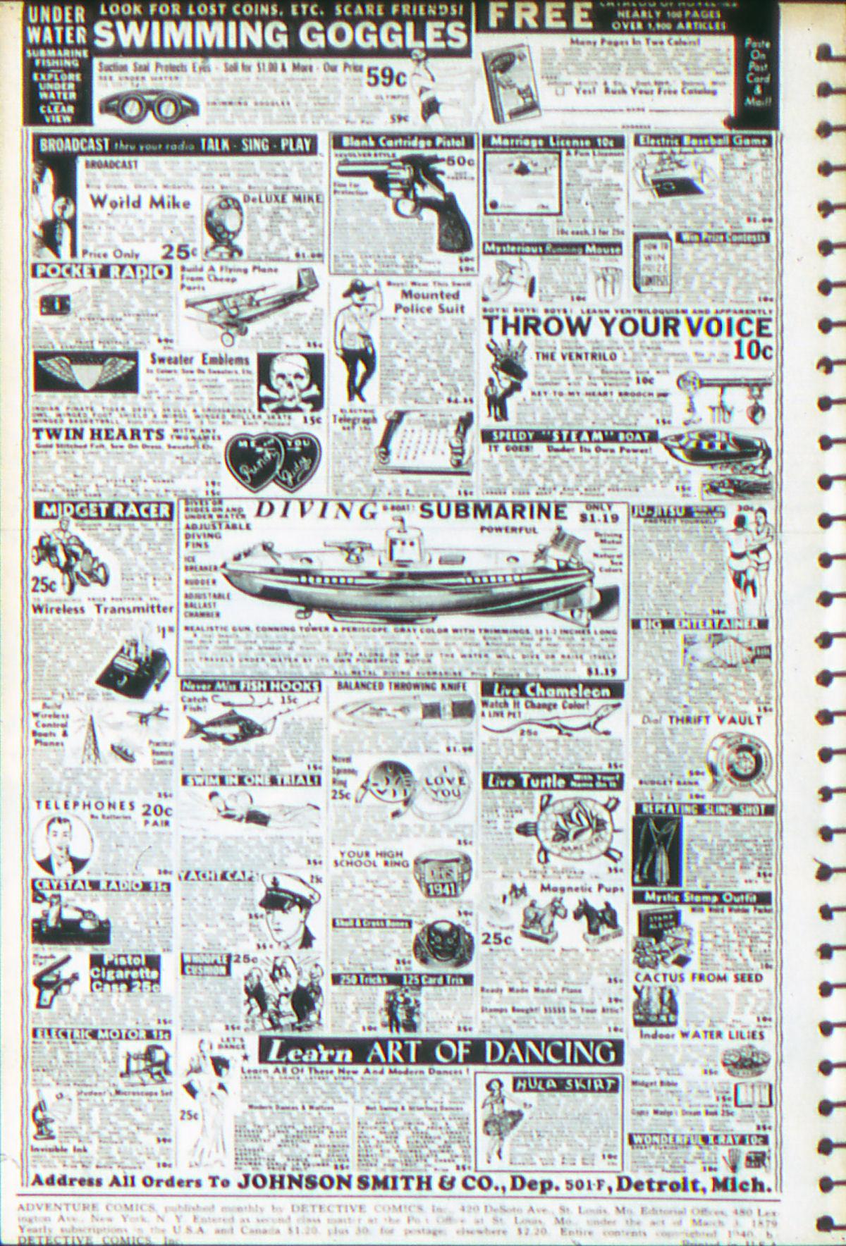 Read online Adventure Comics (1938) comic -  Issue #52 - 3