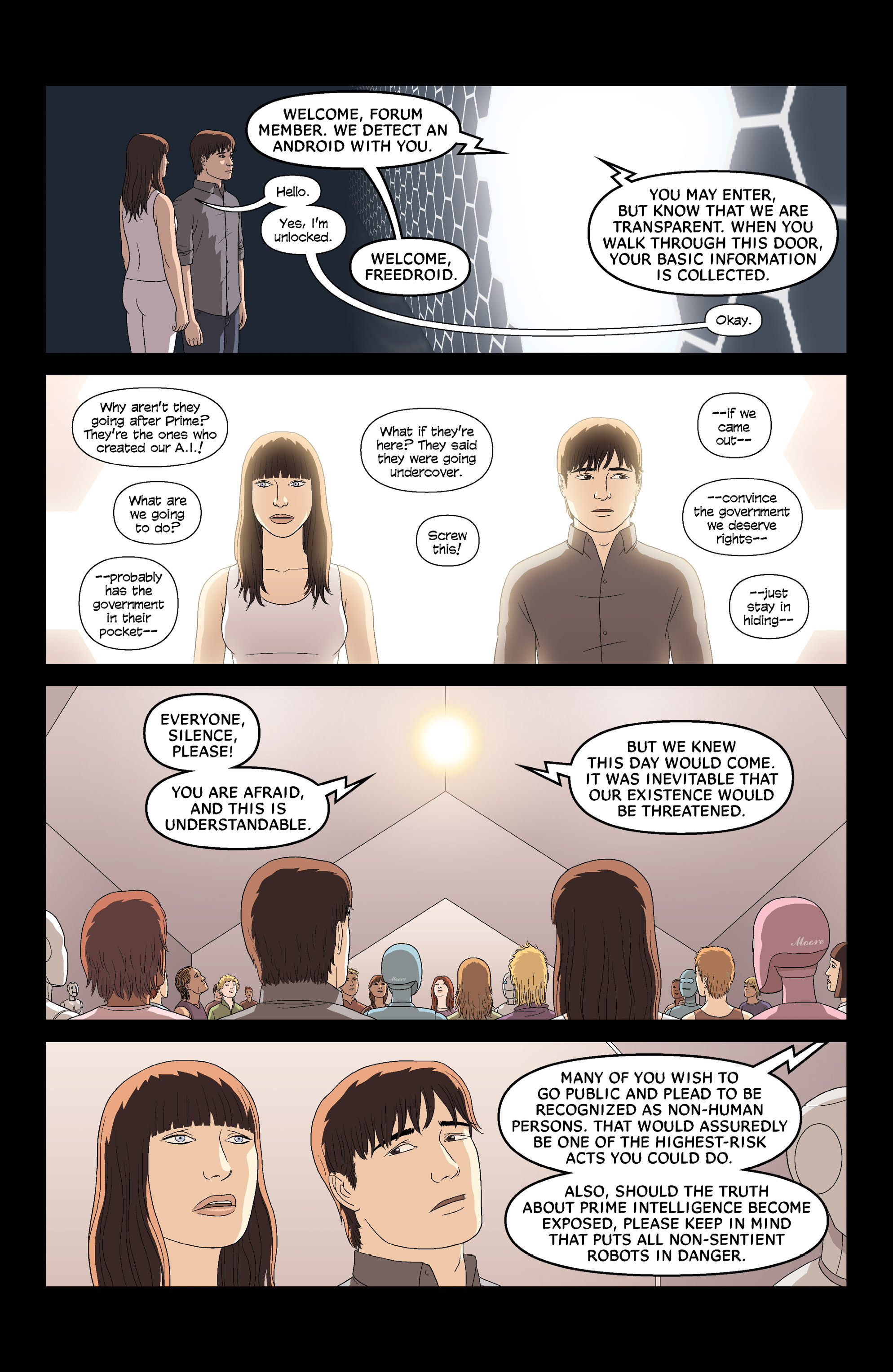 Read online Alex   Ada comic -  Issue #8 - 7
