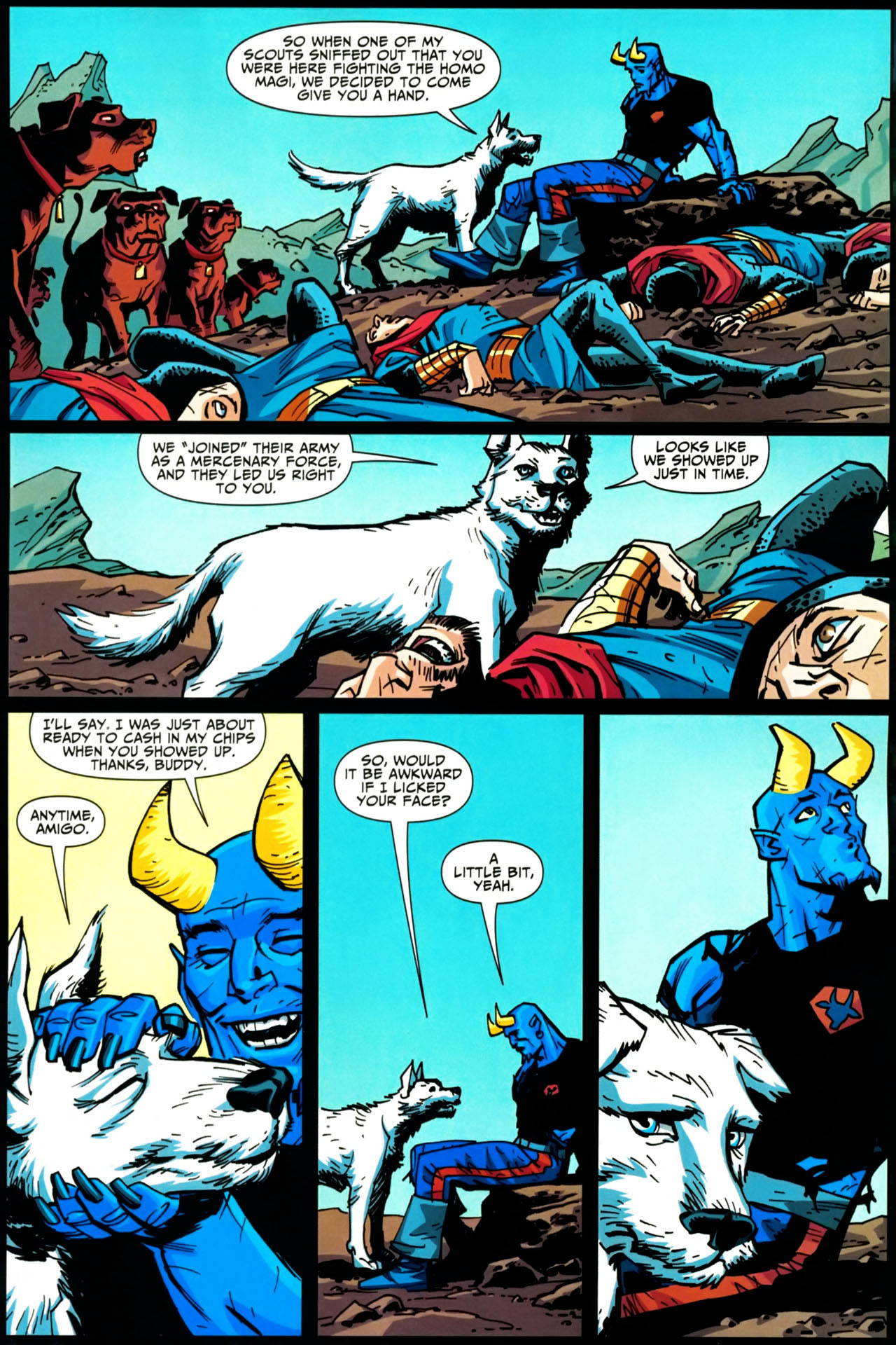 Read online Shadowpact comic -  Issue #20 - 18