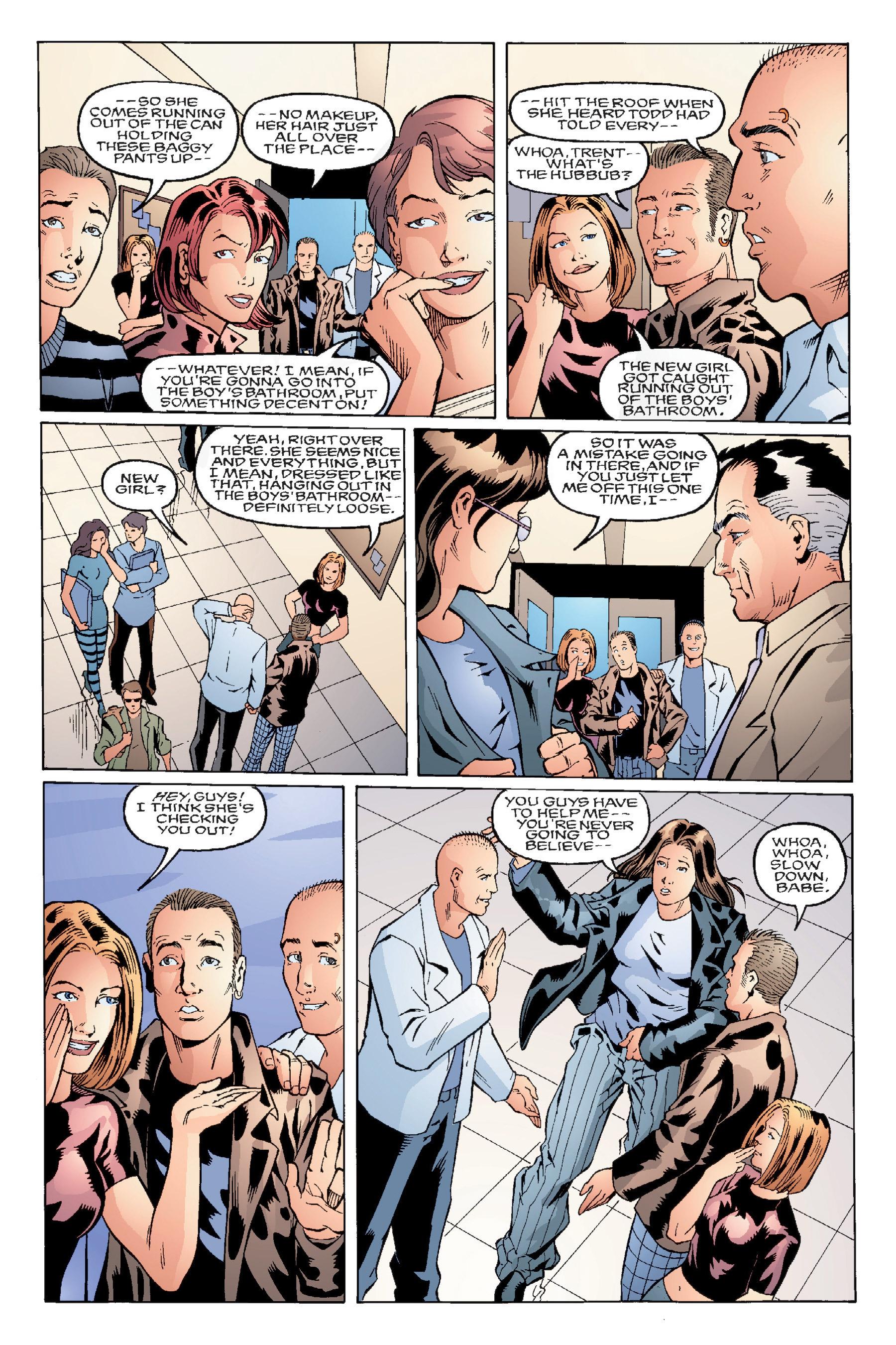 Read online Buffy the Vampire Slayer: Omnibus comic -  Issue # TPB 4 - 71