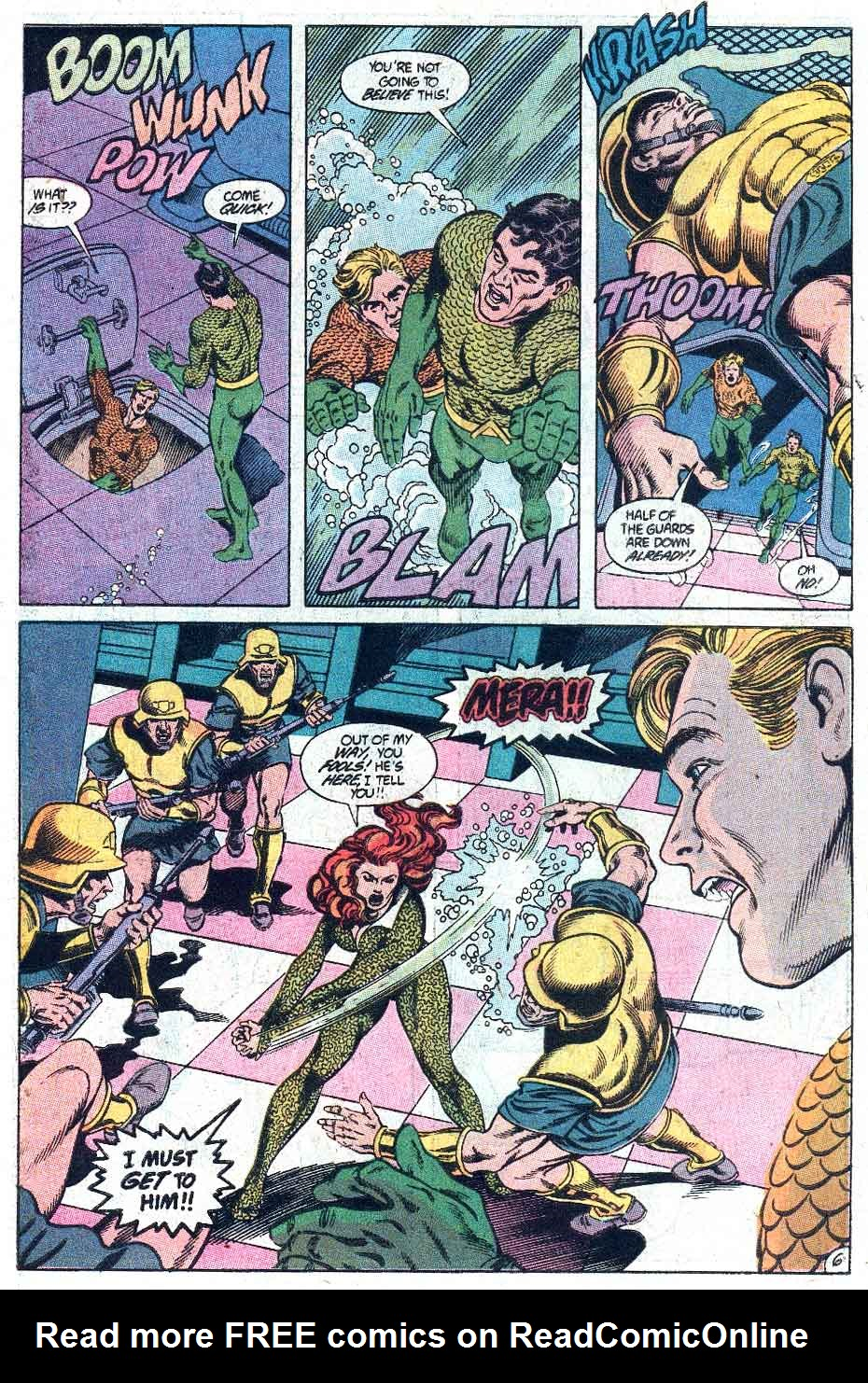 Read online Aquaman (1989) comic -  Issue #3 - 7
