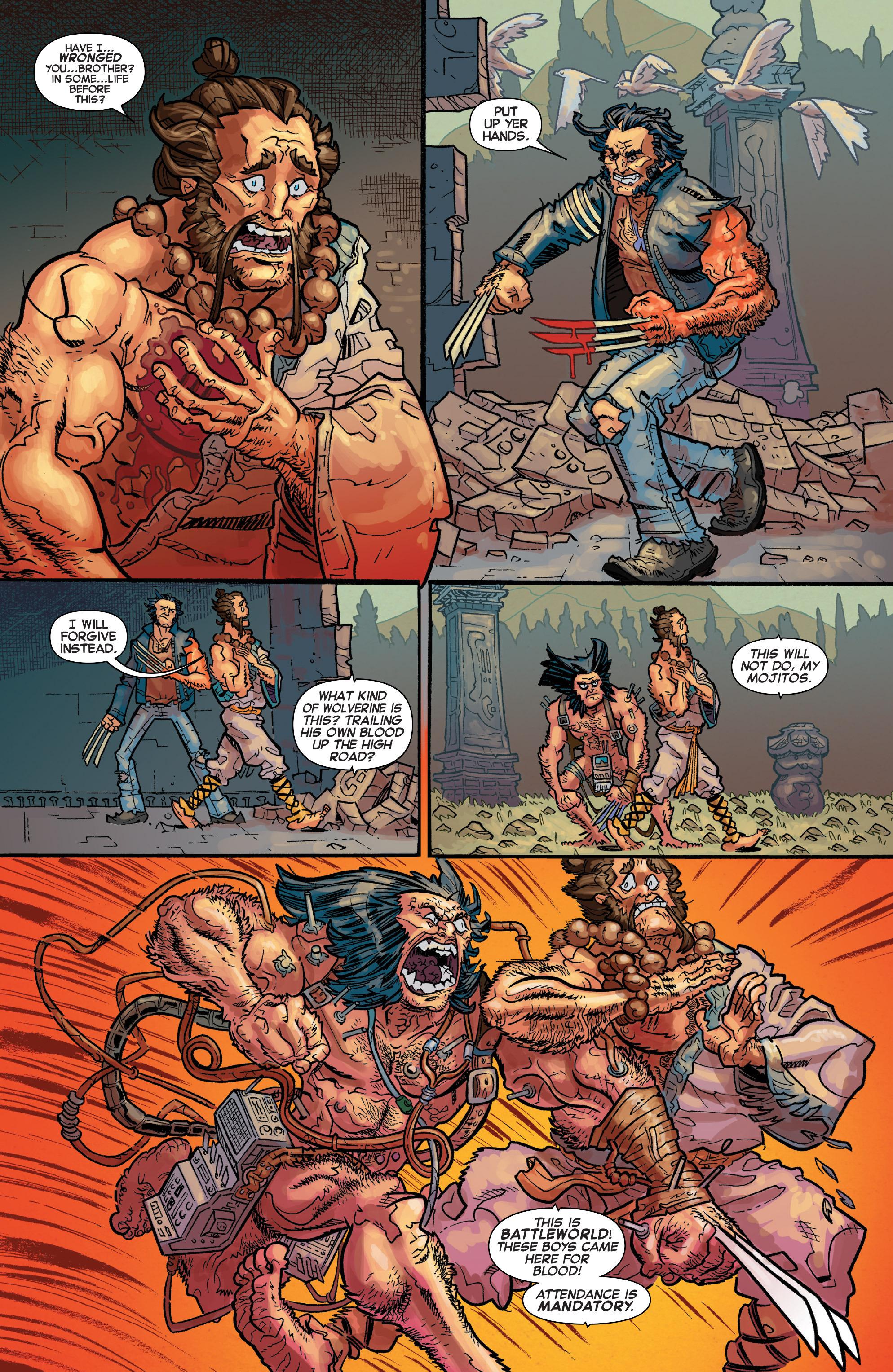 Read online Secret Wars: Battleworld comic -  Issue #3 - 8