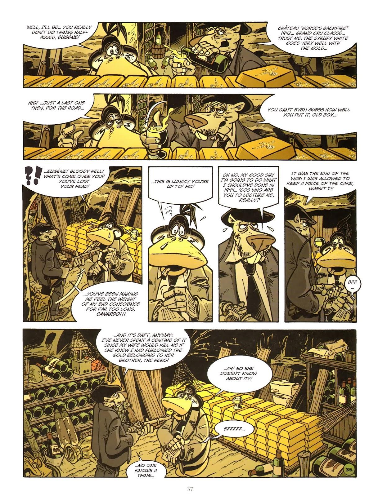 Une enquête de l'inspecteur Canardo issue 11 - Page 38