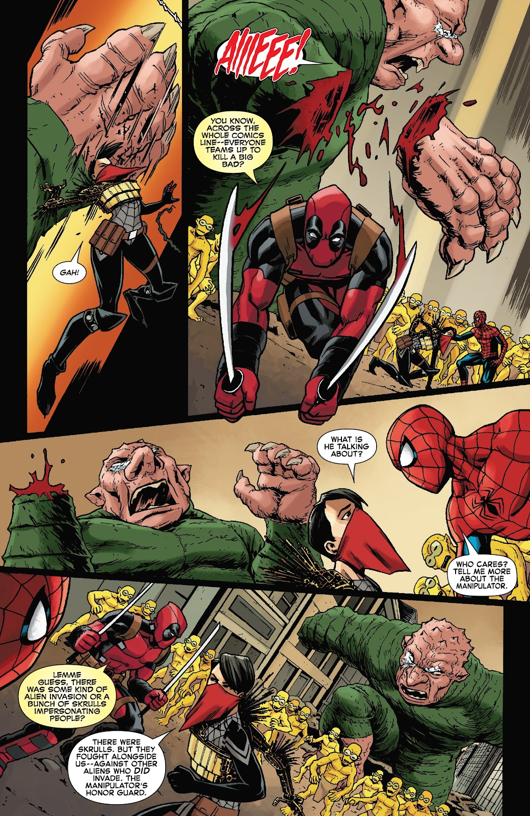 Read online Spider-Man/Deadpool comic -  Issue #46 - 16