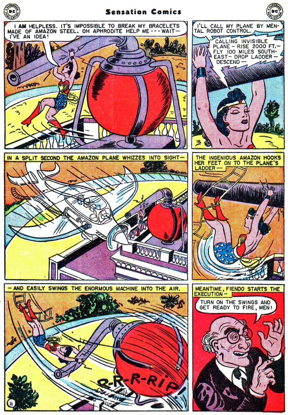 Read online Sensation (Mystery) Comics comic -  Issue #54 - 14