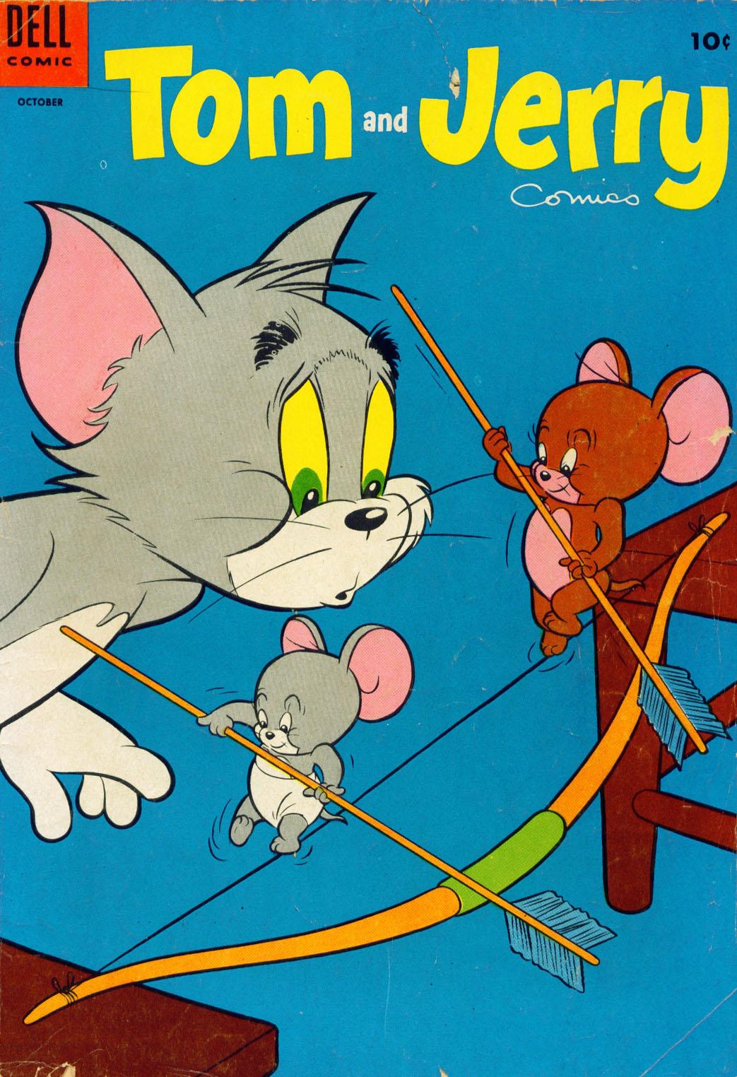 Tom & Jerry Comics 123 Page 1