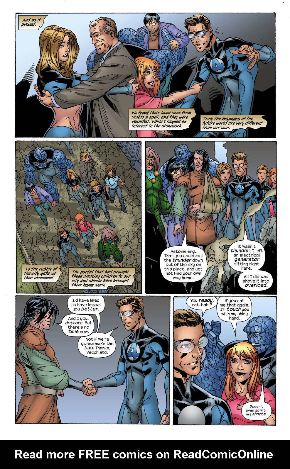 Read online Ultimate Fantastic Four (2004) comic -  Issue #41 - 24