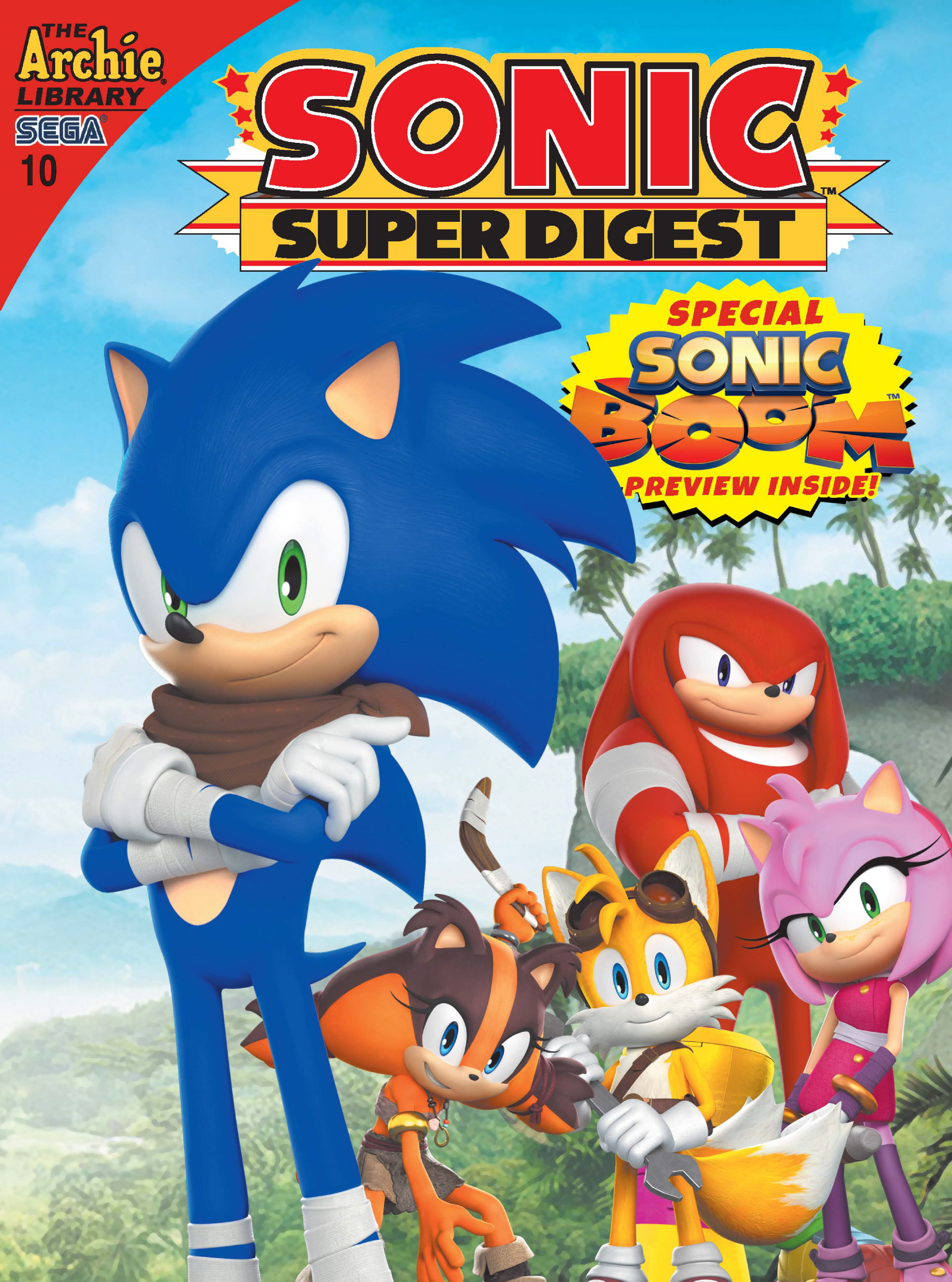 Read online Sonic Super Digest comic -  Issue #10 - 1