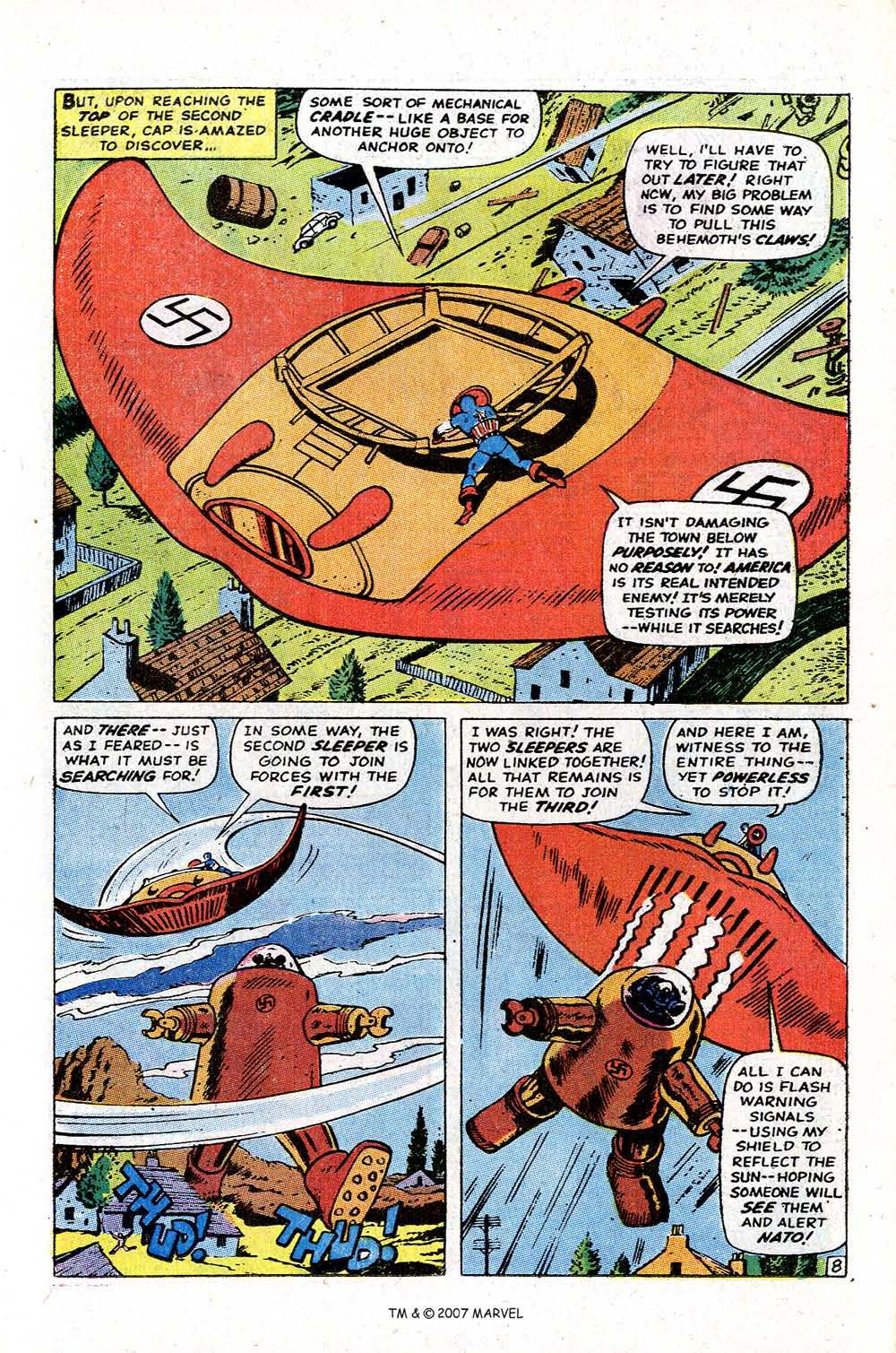 Read online Captain America (1968) comic -  Issue # _Annual 2 - 25