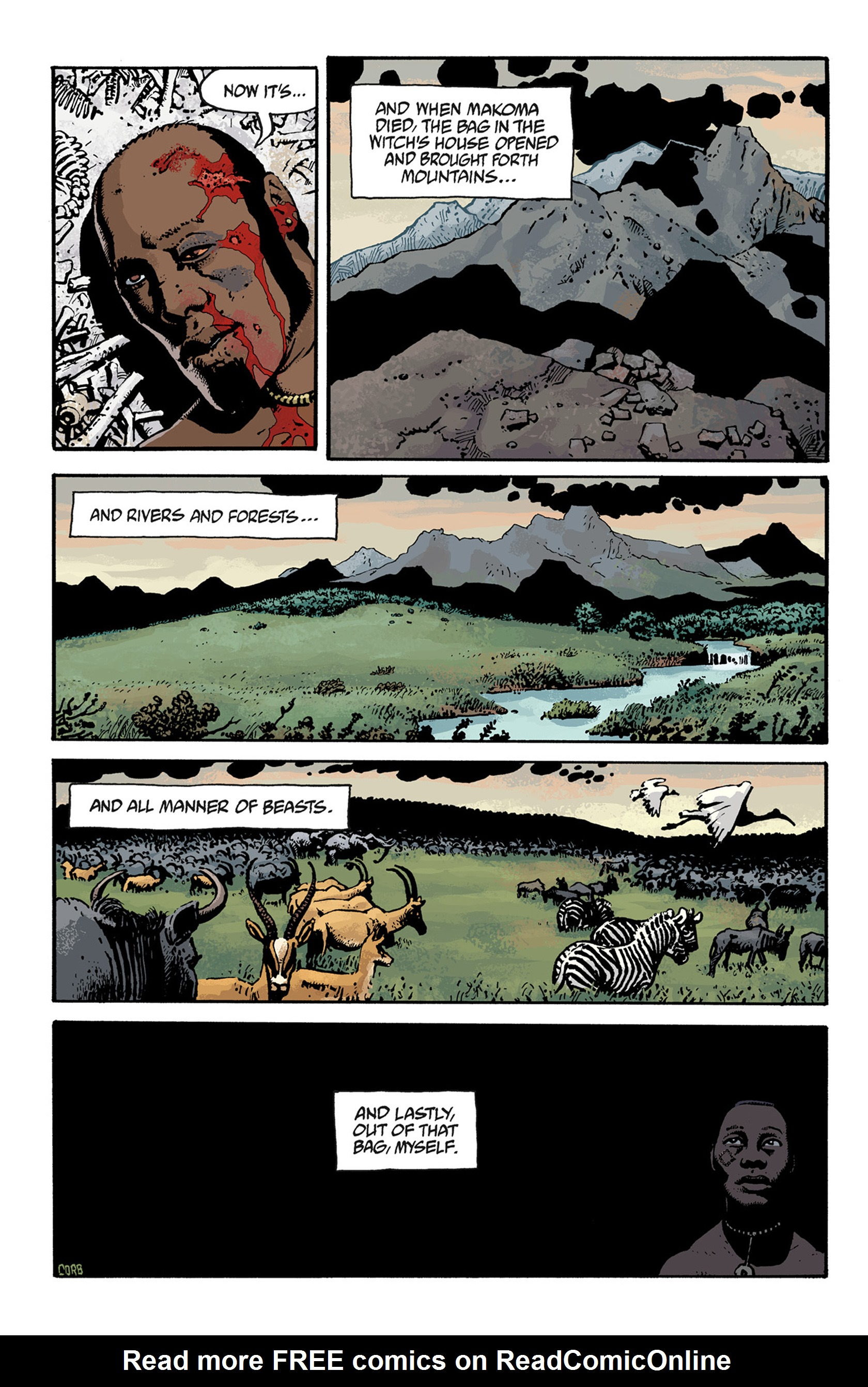 Read online Hellboy: The Troll Witch and Others comic -  Issue # TPB - 128