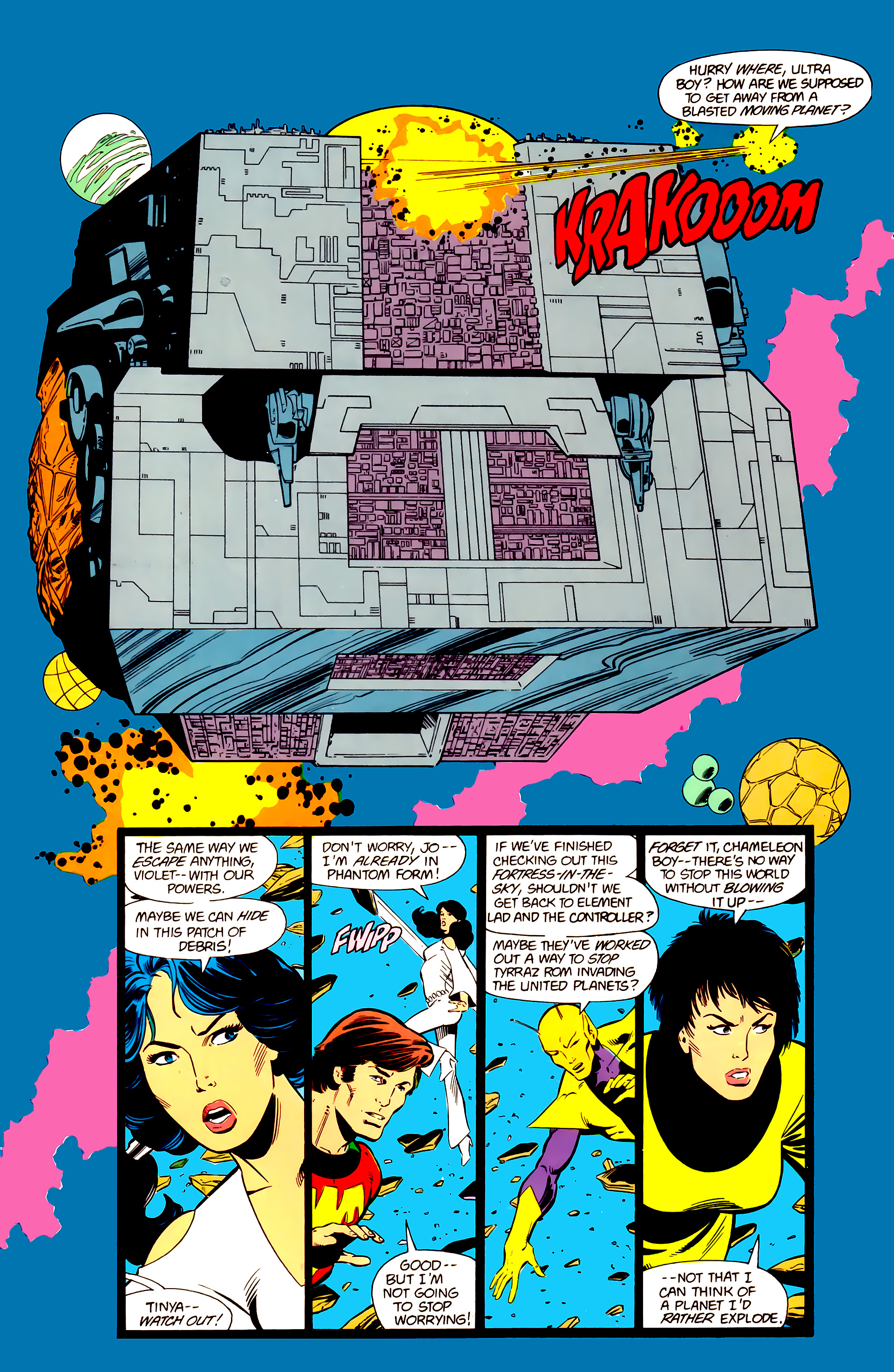 Legion of Super-Heroes (1984) 20 Page 3