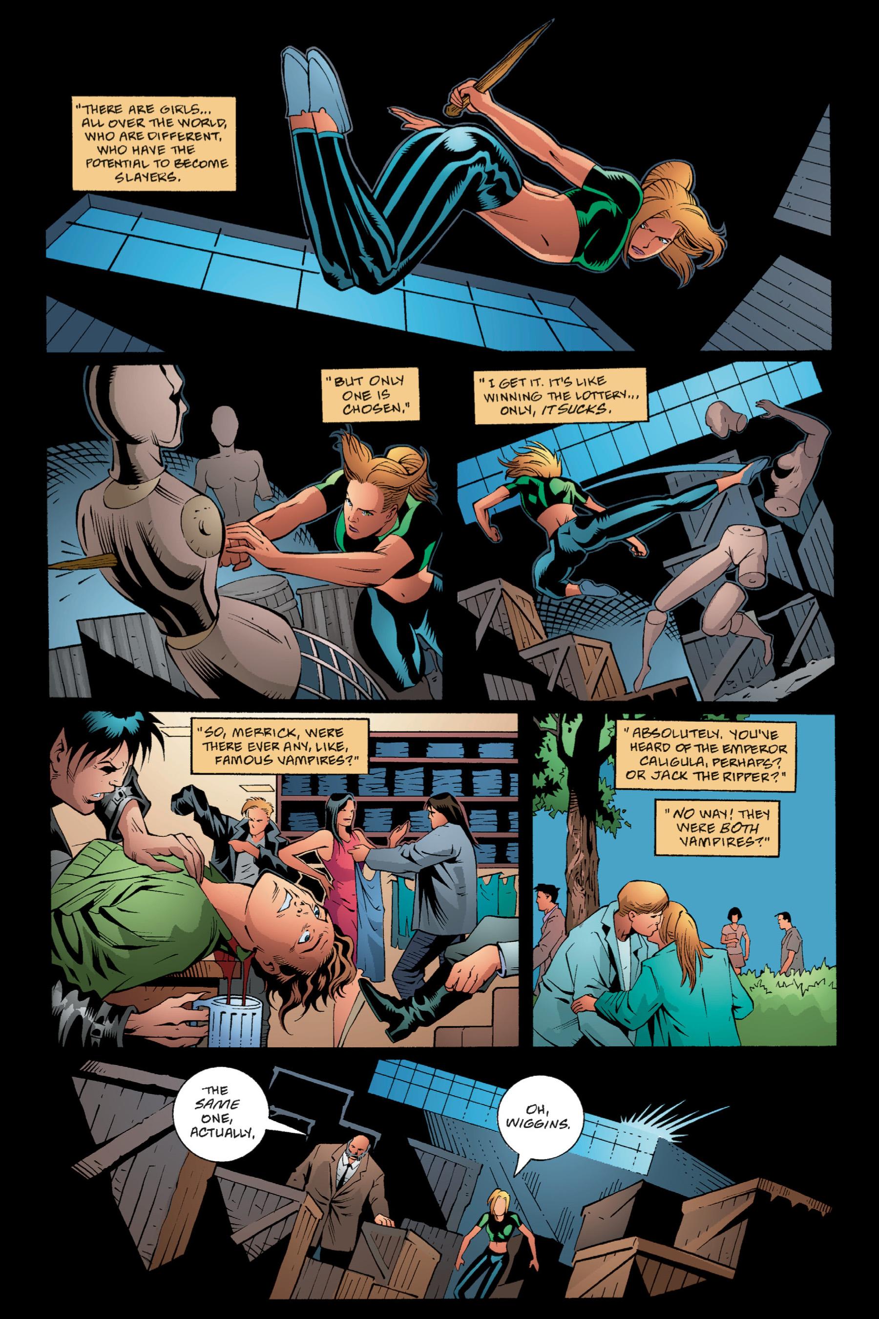 Read online Buffy the Vampire Slayer: Omnibus comic -  Issue # TPB 1 - 63