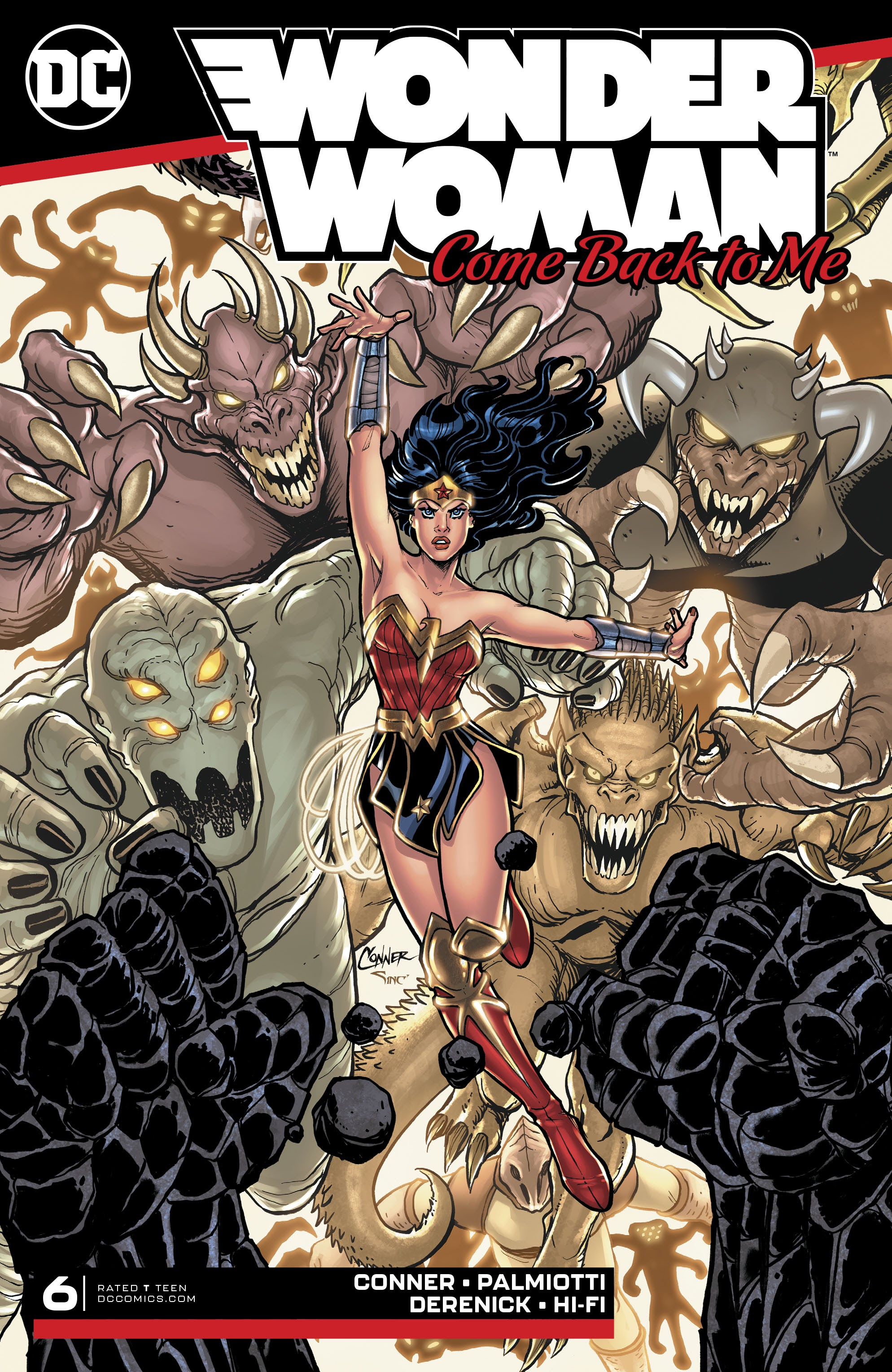 Wonder Woman: Come Back To Me 6 Page 1