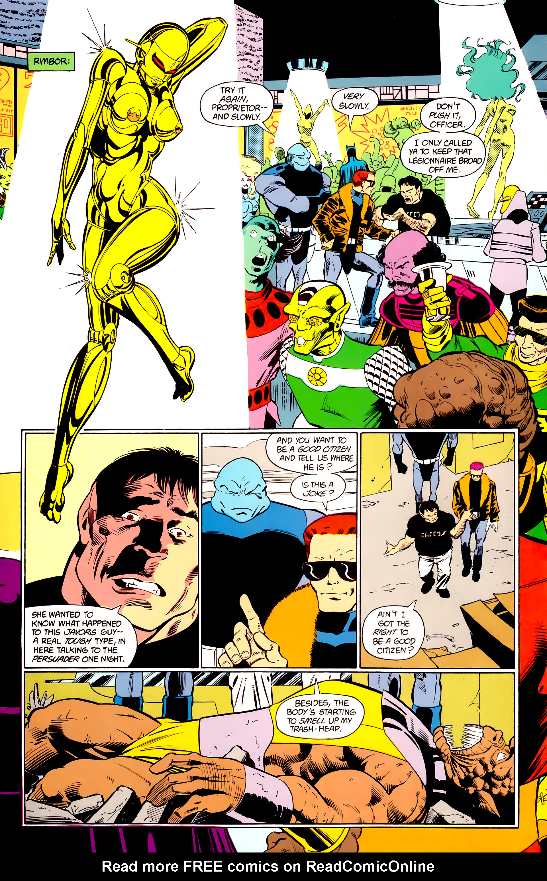 Legion of Super-Heroes (1984) 24 Page 7