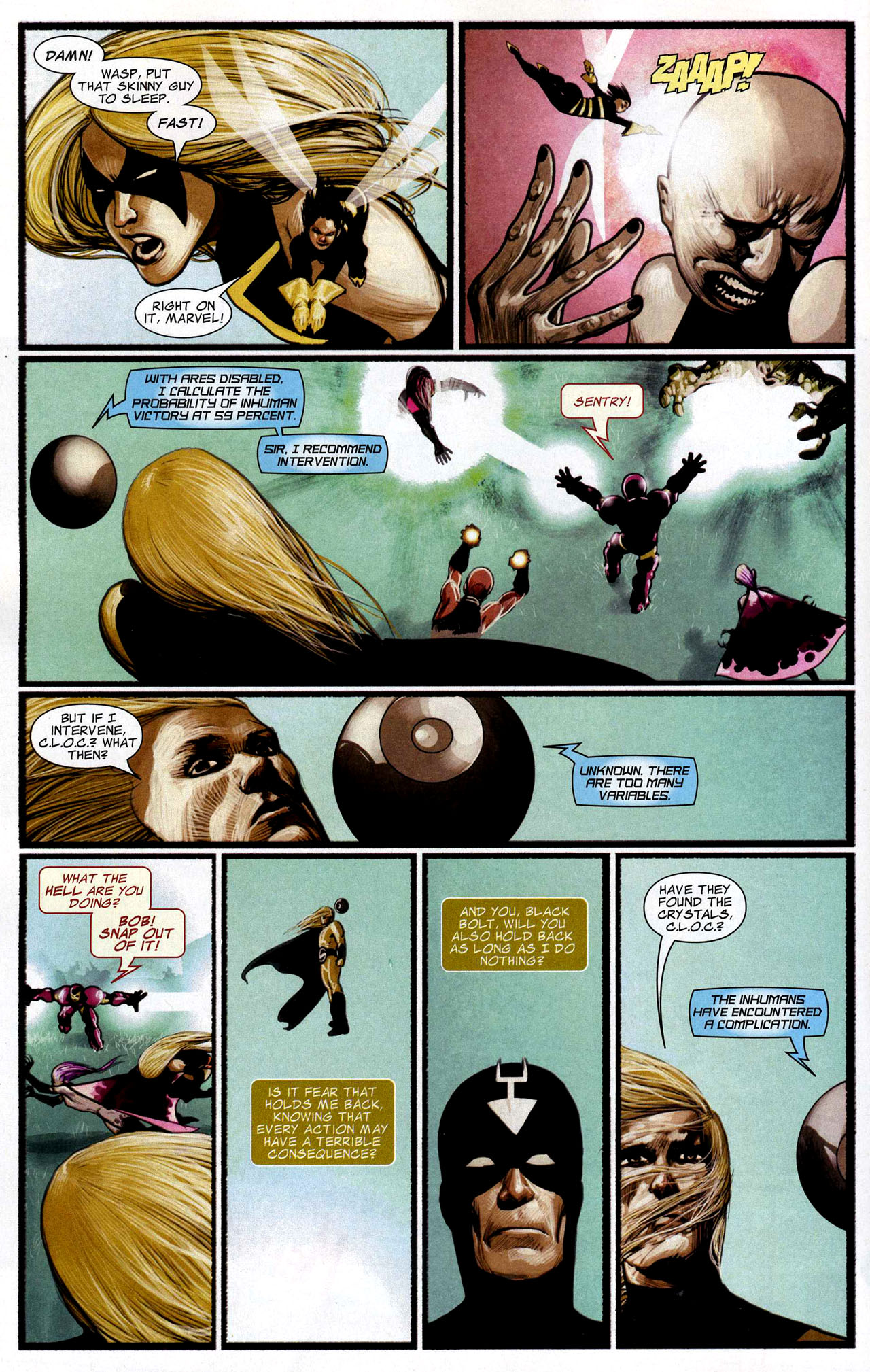 Read online Silent War comic -  Issue #5 - 10