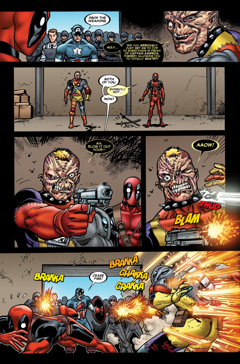 Read online Deadpool (2008) comic -  Issue #49 - 21