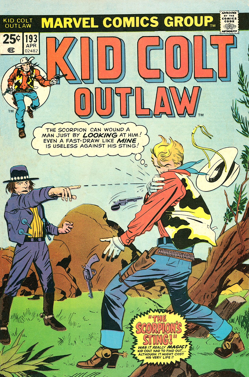 Kid Colt Outlaw issue 193 - Page 1