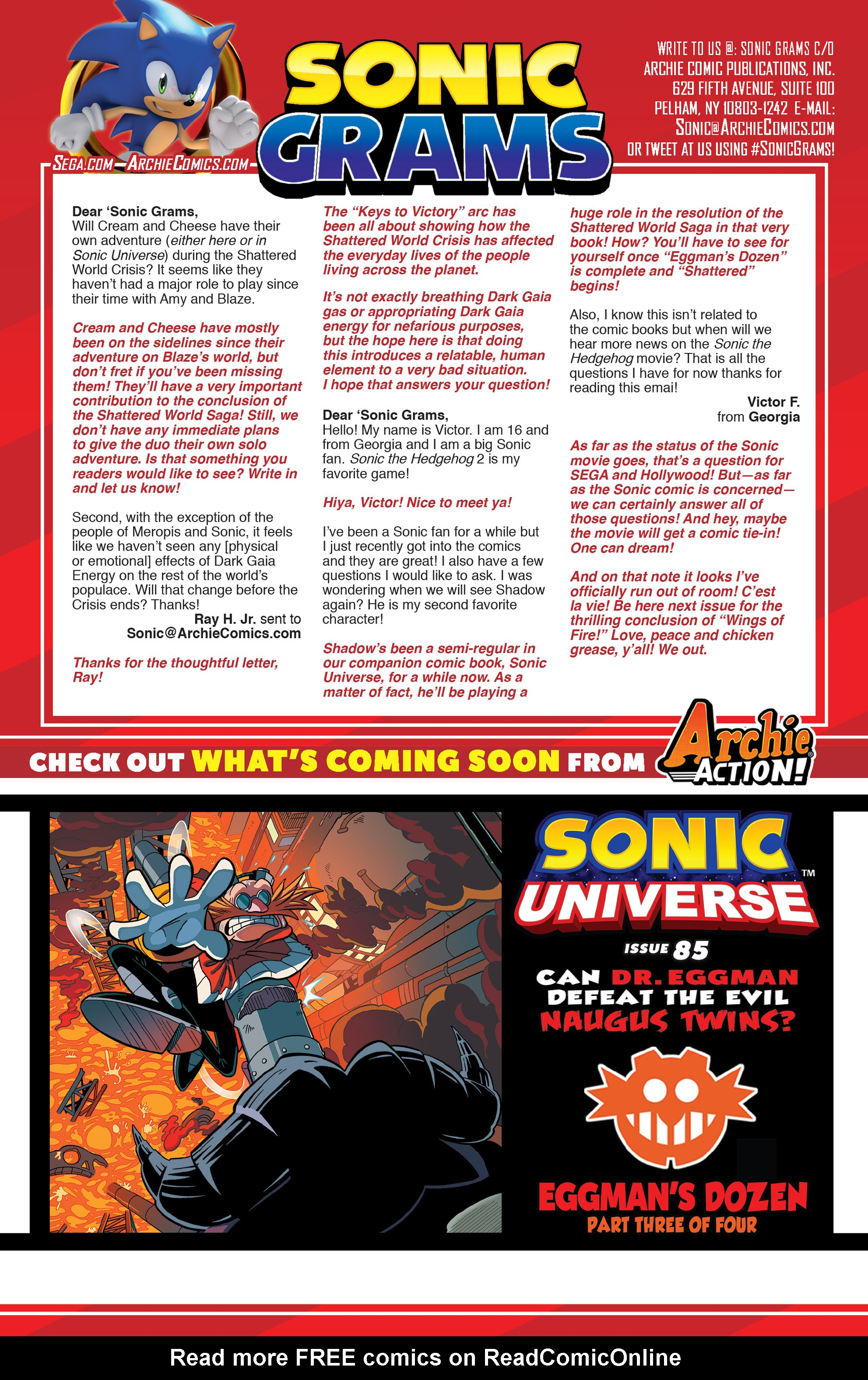 Read online Sonic The Hedgehog comic -  Issue #281 - 25