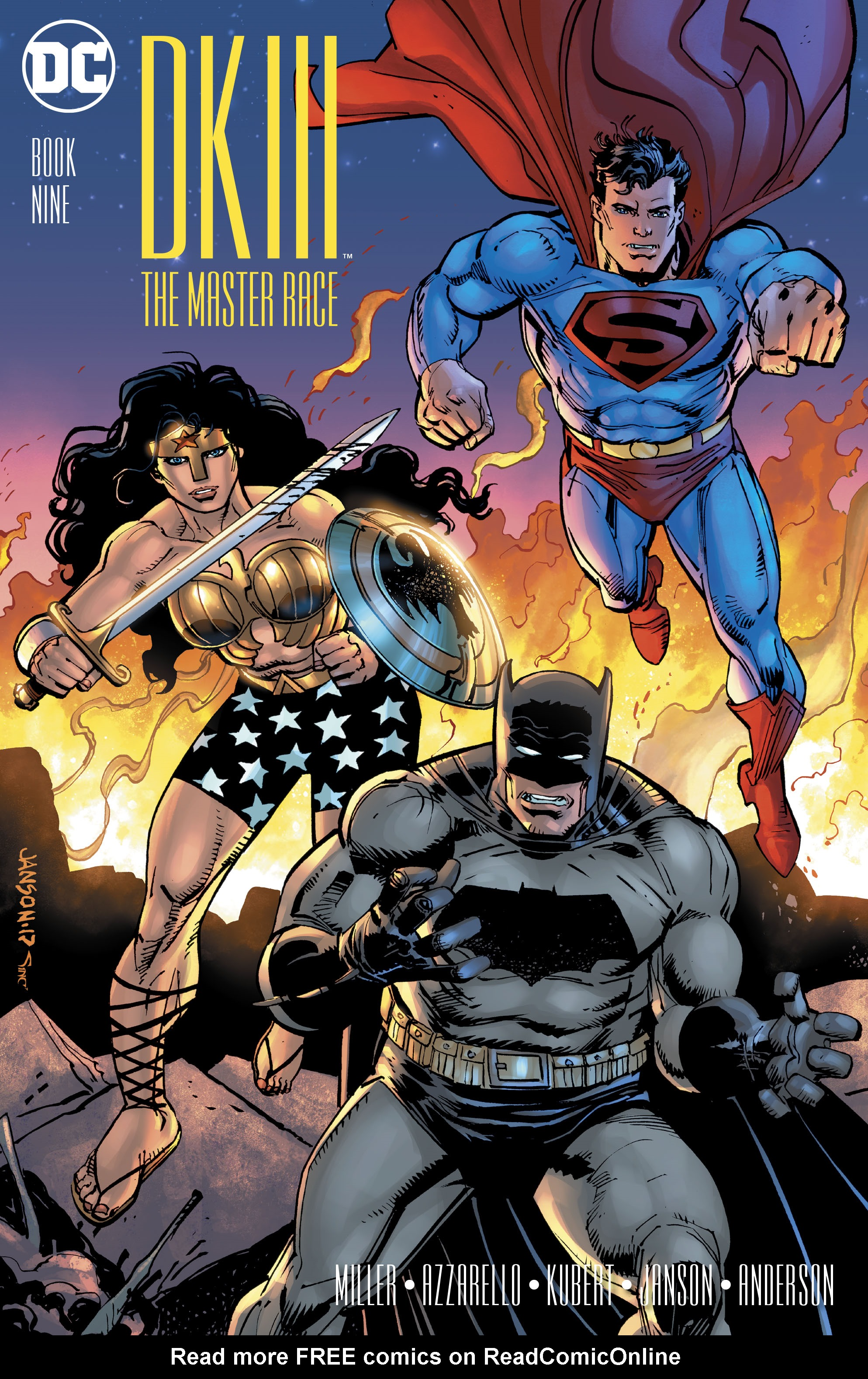 Read online Dark Knight III: The Master Race comic -  Issue #9 - 4