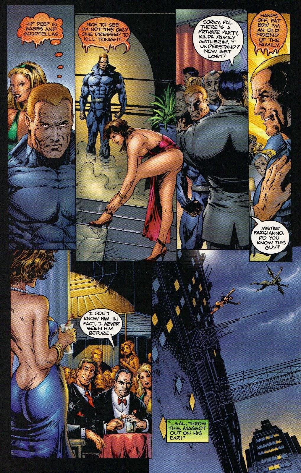 Vampirella vs Hemorrhage issue 1 - Page 15