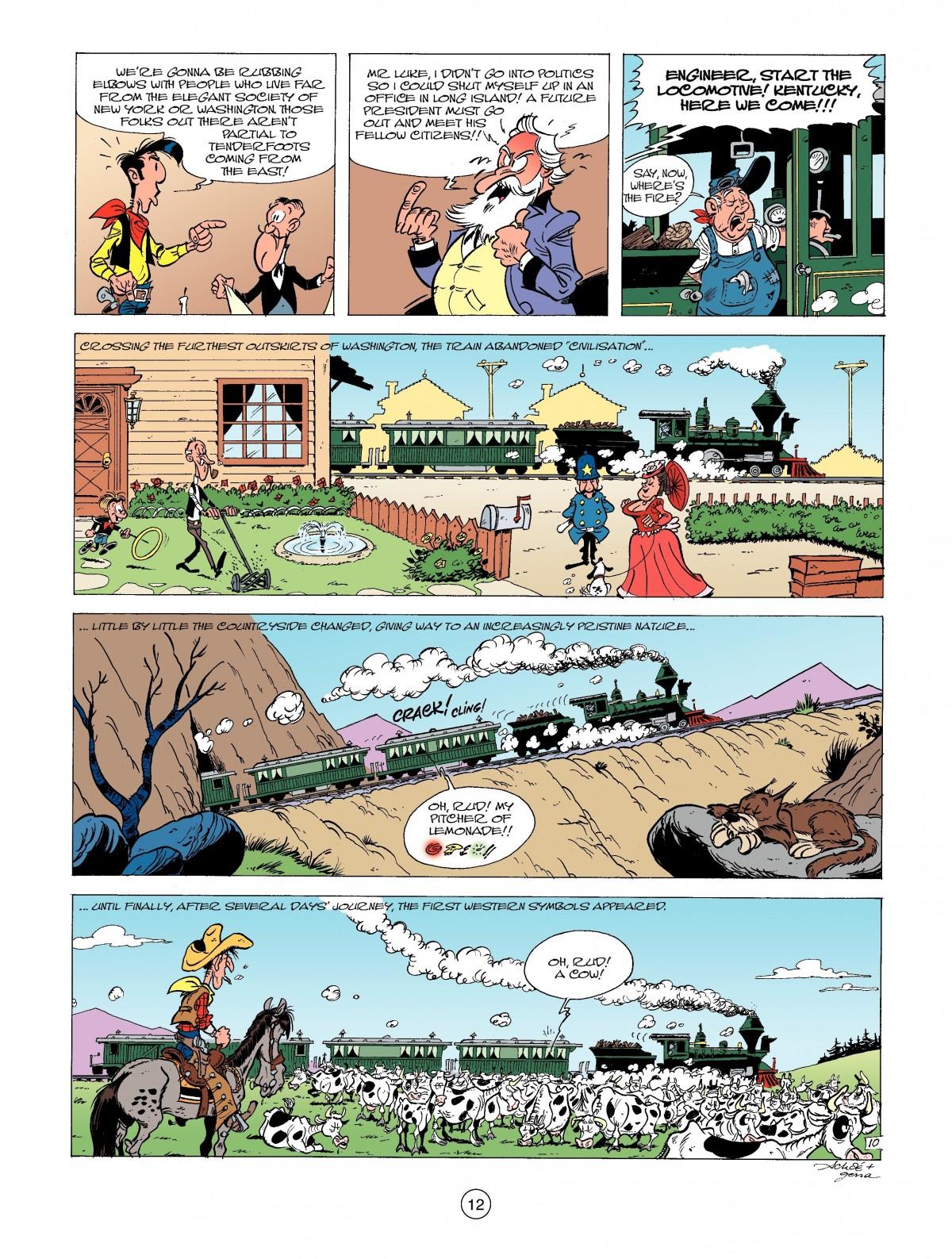 Read online A Lucky Luke Adventure comic -  Issue #39 - 12