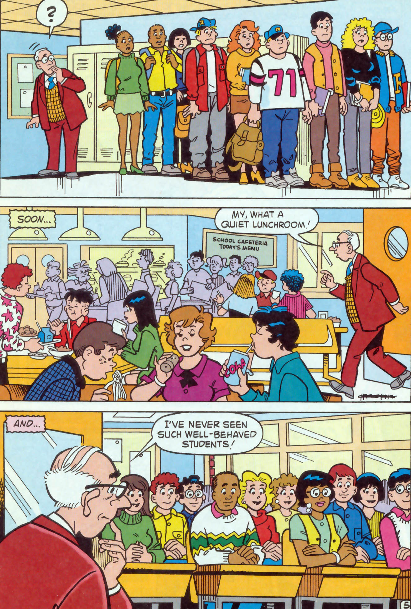 Read online Archie (1960) comic -  Issue #469 - 6