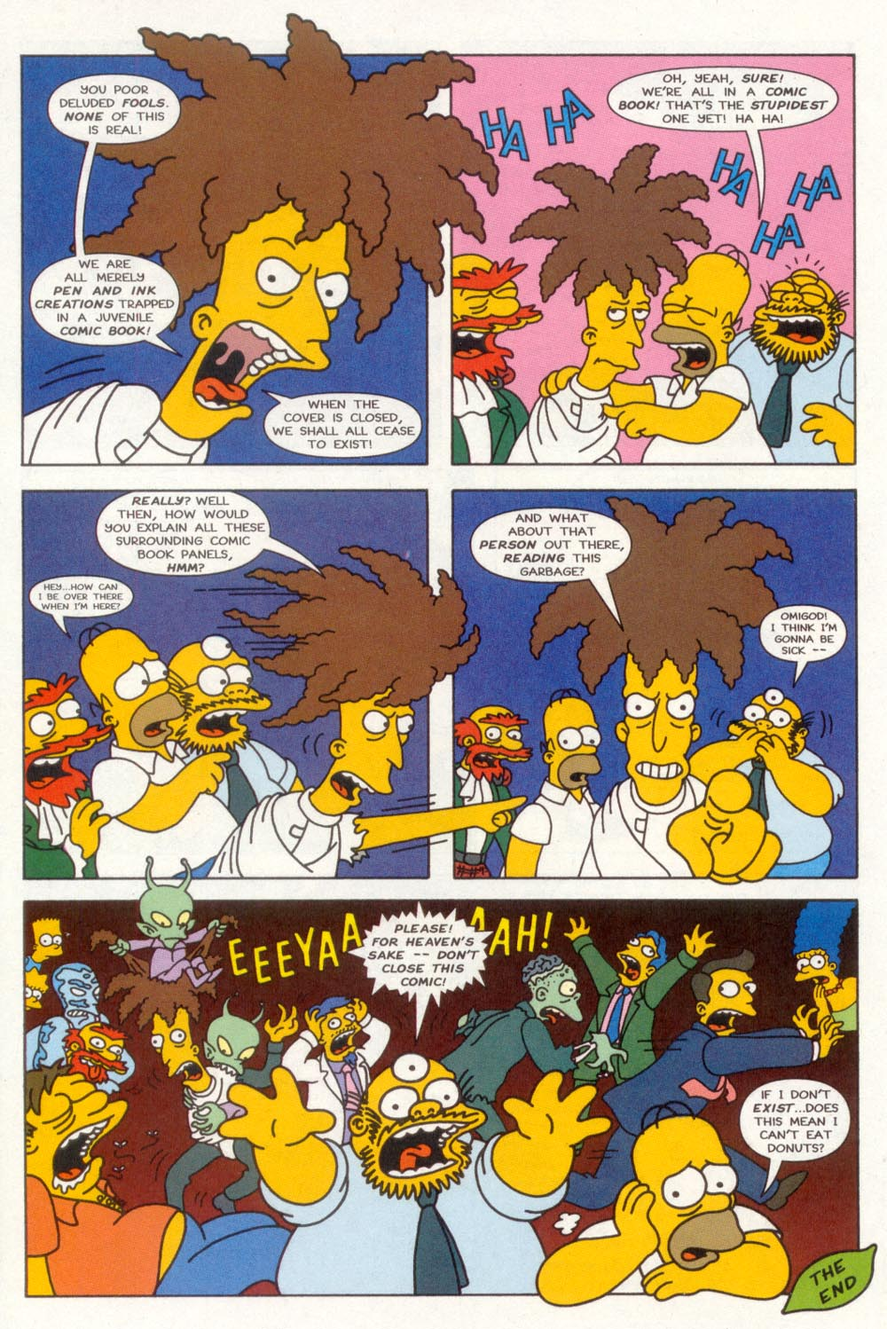 Read online Treehouse of Horror comic -  Issue #3 - 25
