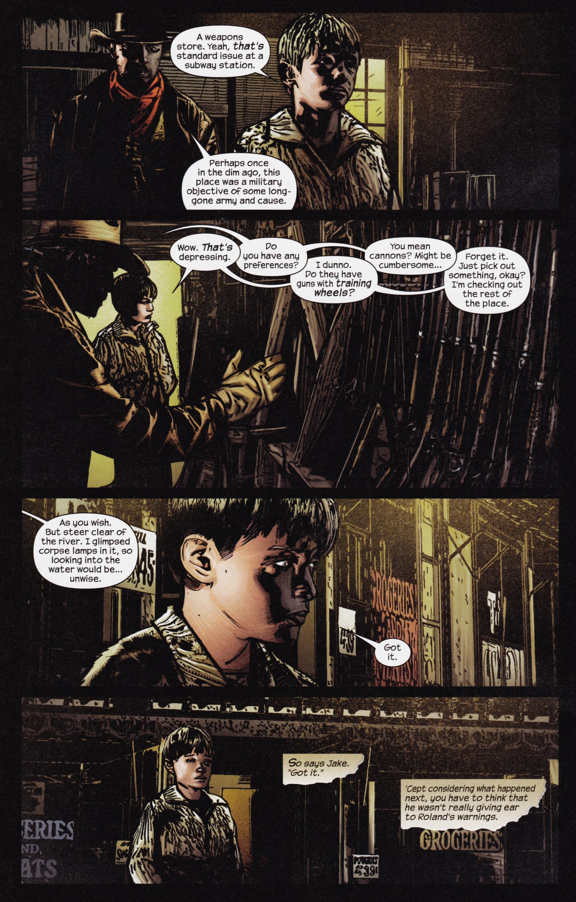 Read online Dark Tower: The Gunslinger - The Man in Black comic -  Issue #3 - 20