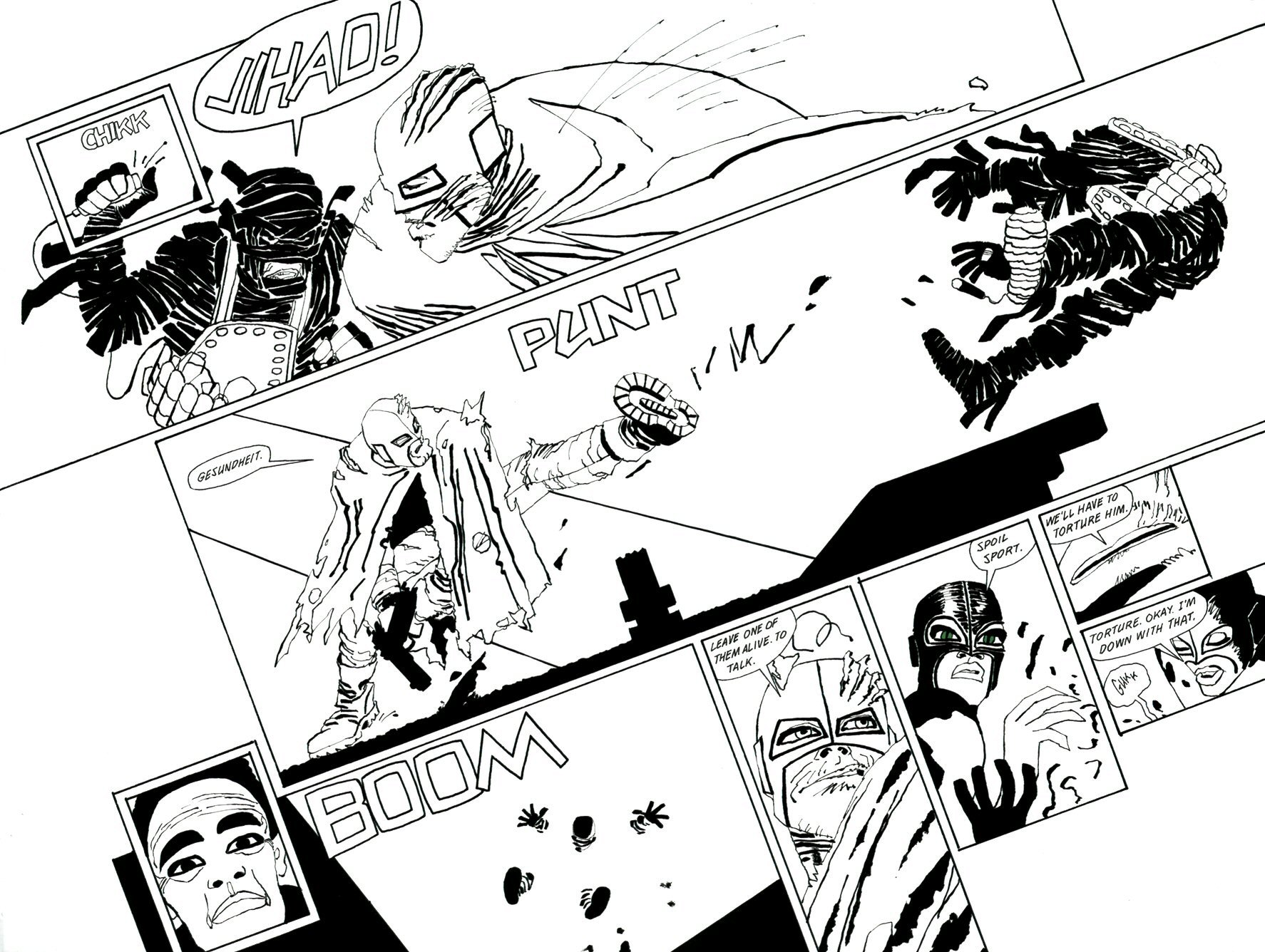 Read online Frank Miller's Holy Terror comic -  Issue # TPB - 82