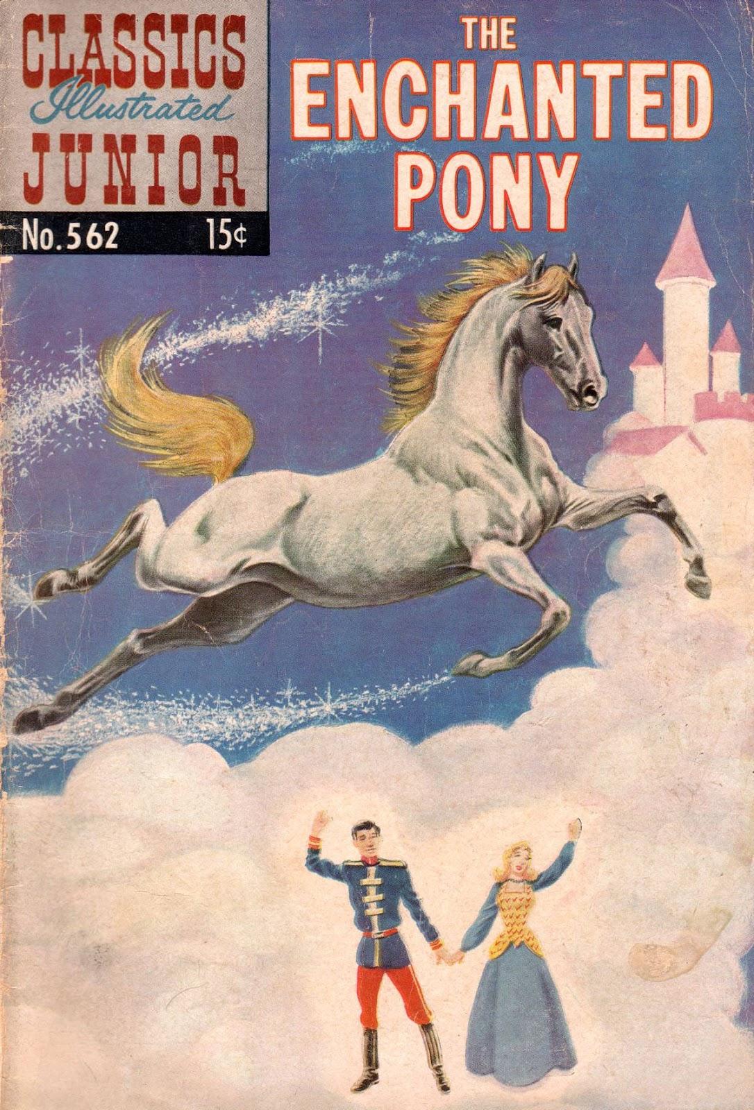 Classics Illustrated Junior 562 Page 1