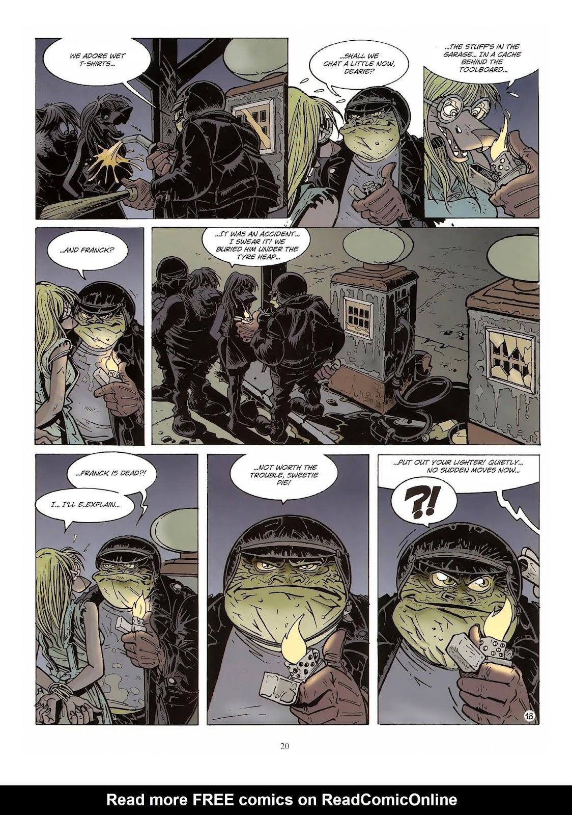 Une enquête de l'inspecteur Canardo issue 10 - Page 21