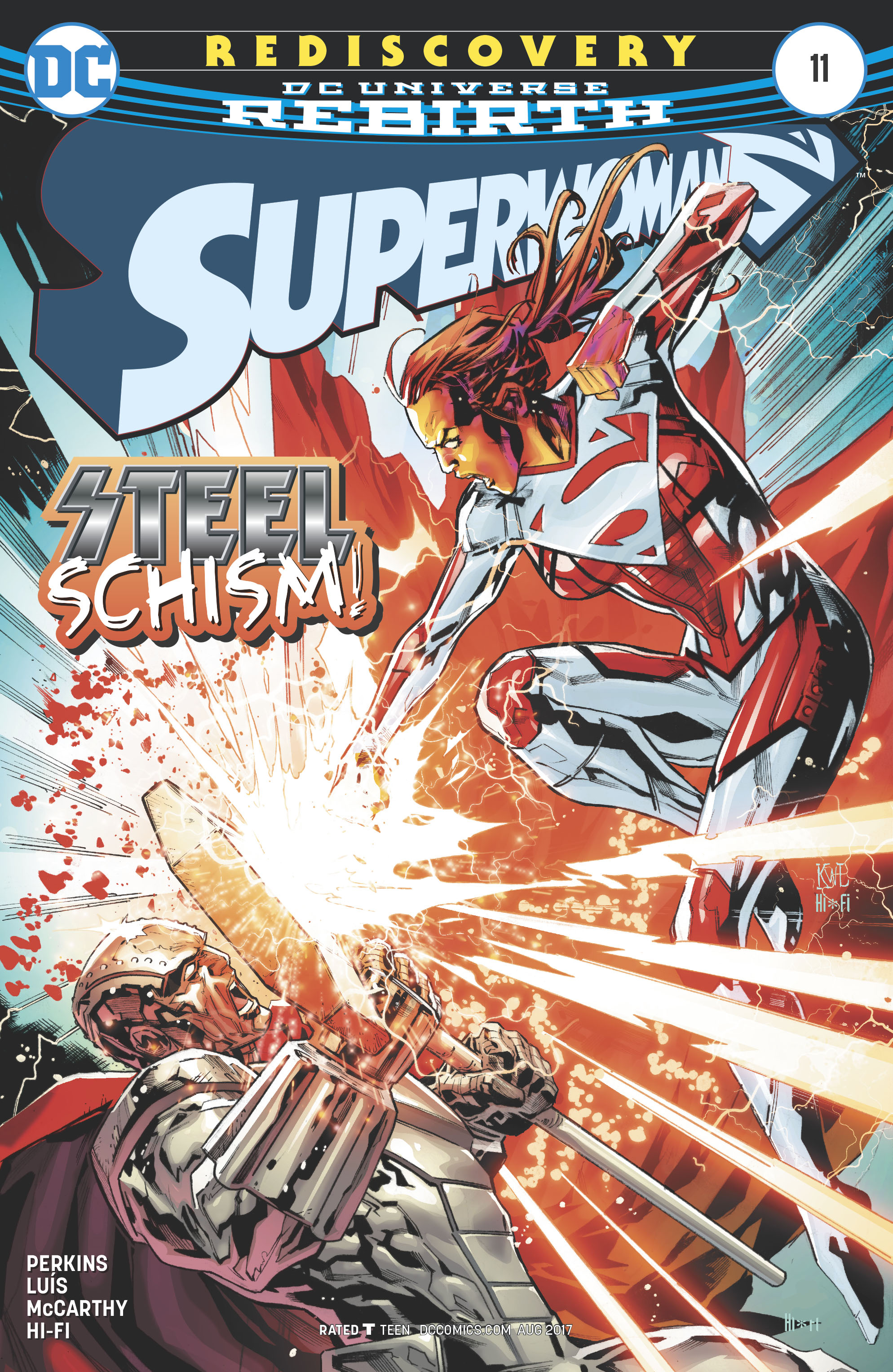 Read online Superwoman comic -  Issue #11 - 1