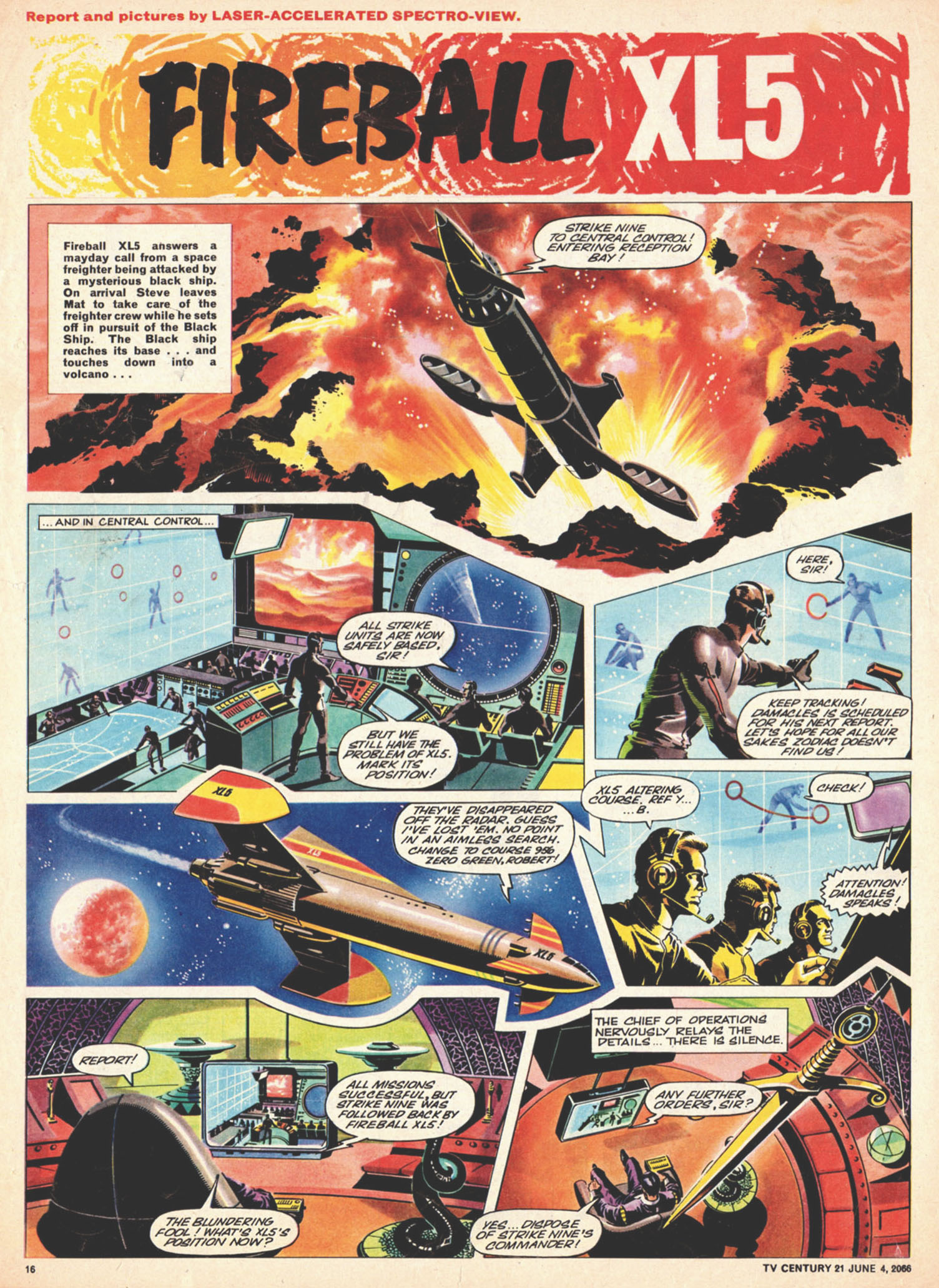 Read online TV Century 21 (TV 21) comic -  Issue #72 - 15