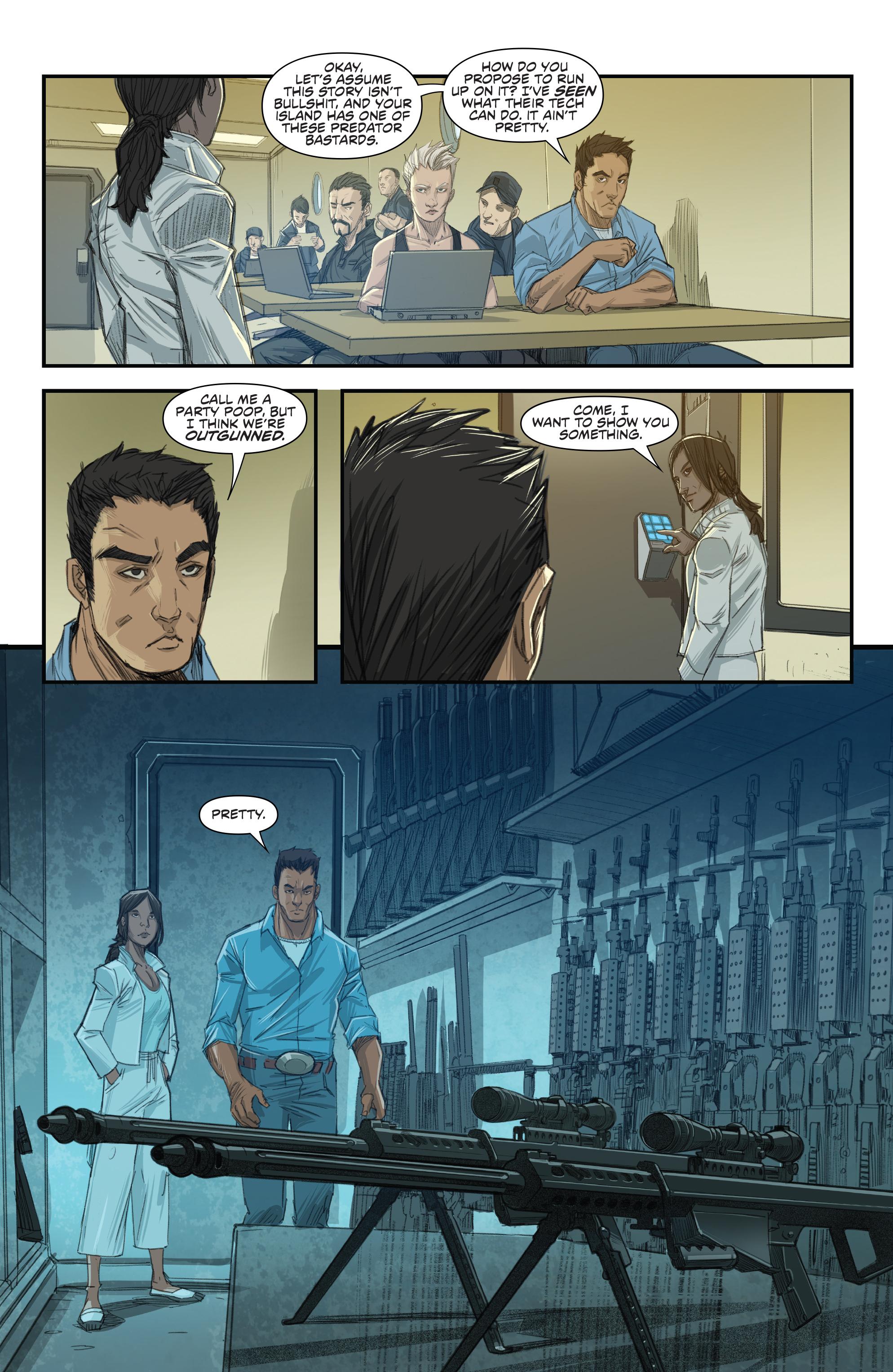 Read online Predator: Hunters comic -  Issue #2 - 15