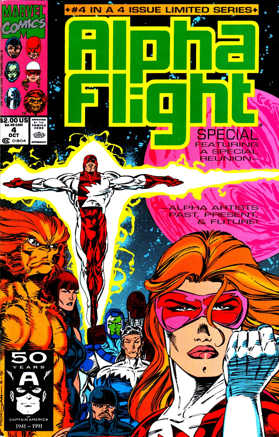 Read online Alpha Flight Special comic -  Issue #4 - 1